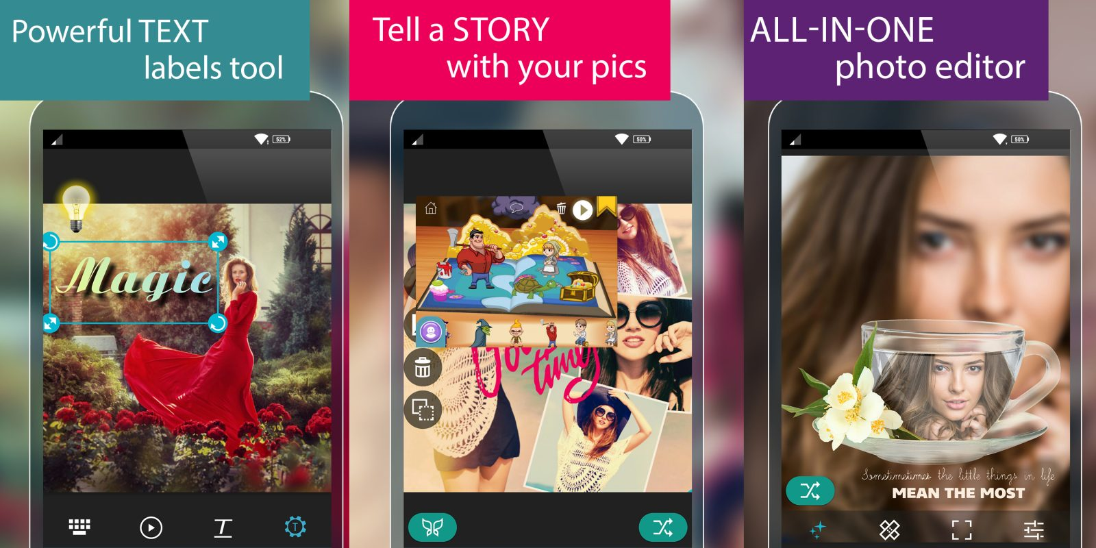 Add the highly-rated Photo Studio Pro to your Android app