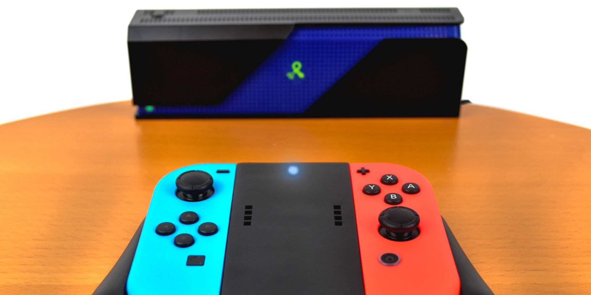 Powercast's Joy-Con grips charge without a cable or mat and offer 38 hours of gameplay