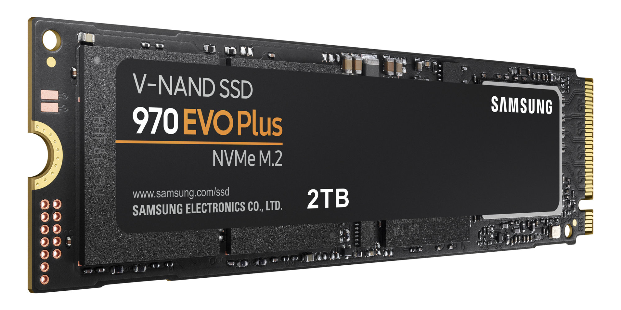 Samsung's new 970 EVO Plus SSD beats its predecessor's write speeds by up to 53 percent