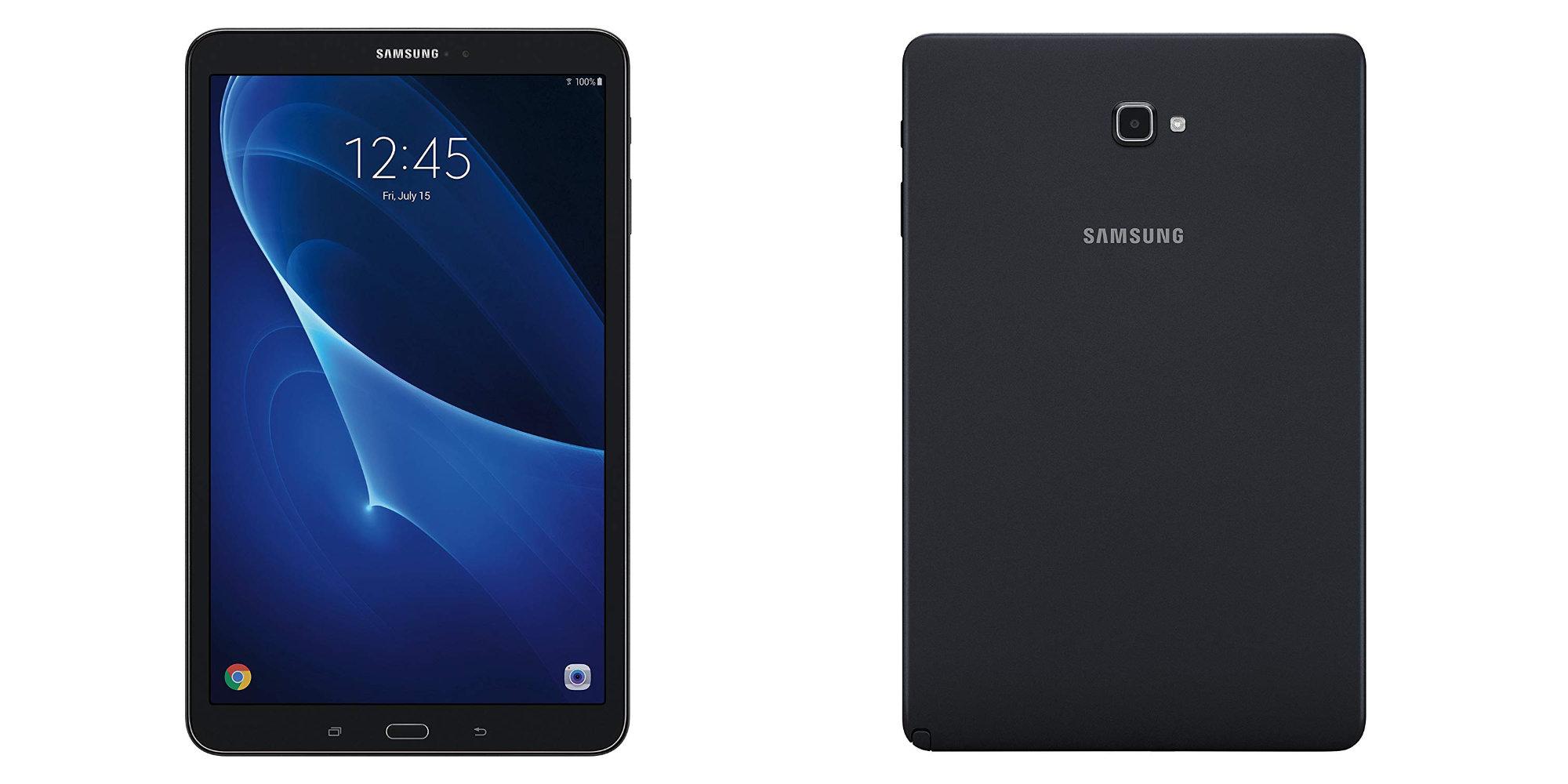 Samsung's 10.1-inch Galaxy Tab A has 13-hour battery life: $179 at Amazon (Reg. $279)