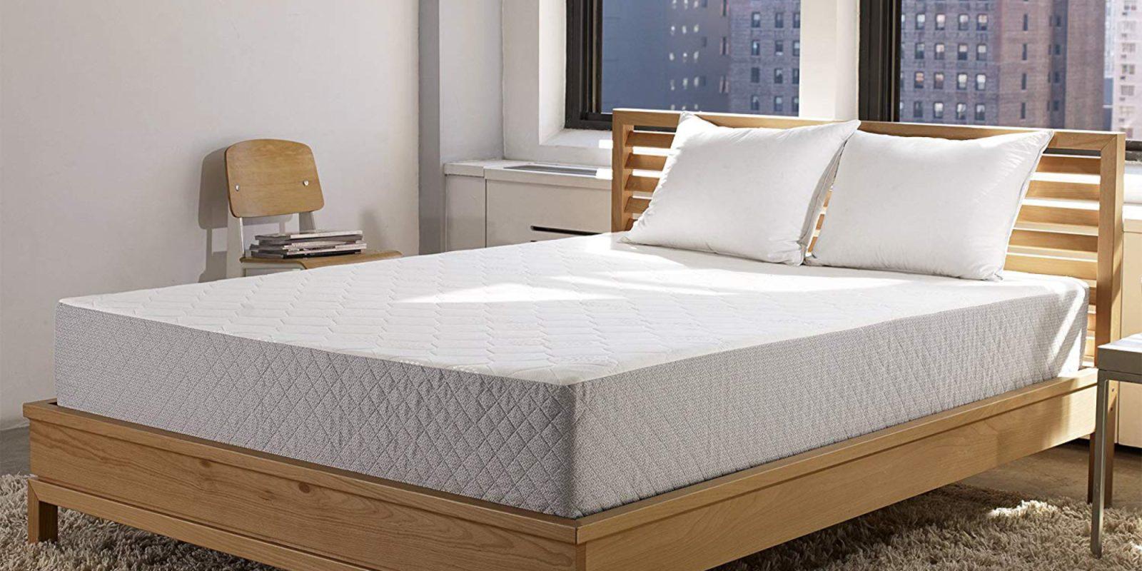 Feel Rejuvenated W Sleep Innovations Queen Memory Foam Mattress
