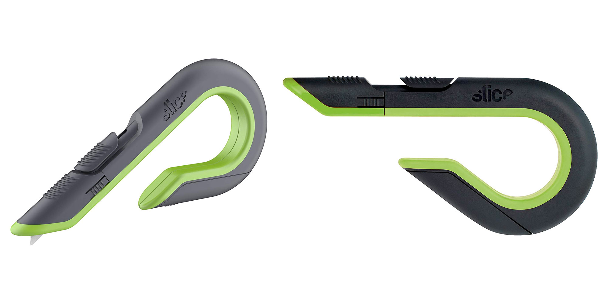 The Slice auto retractable box cutter opens packages with ease for $12.50 shipped