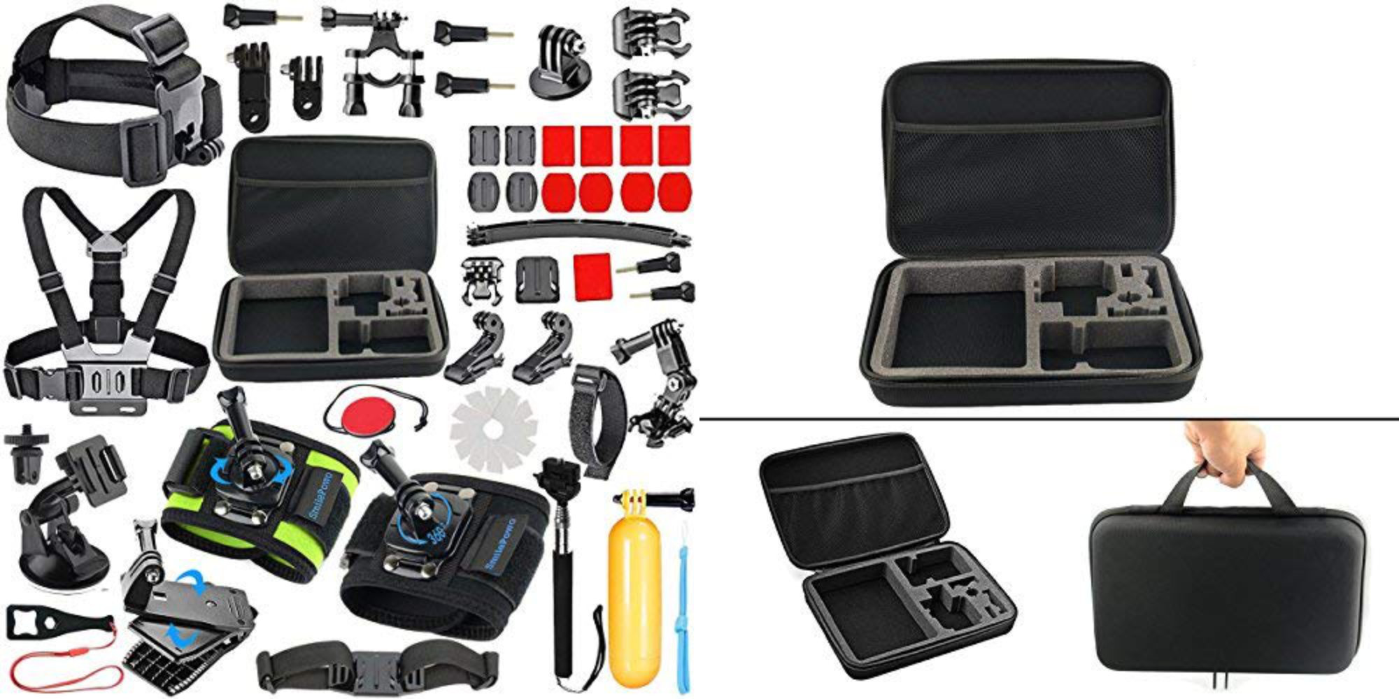 Keep your GoPro footage looking fresh w/ a 51-in-1 Accessory Kit for $17 shipped (40% off)