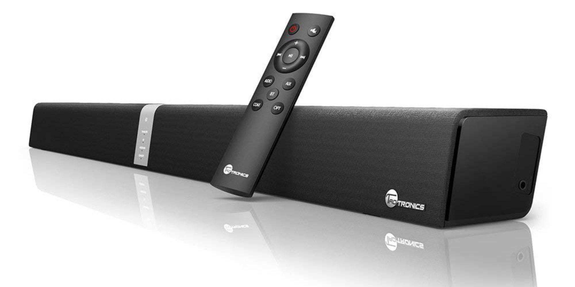 Upgrade your TV's audio w/ a TaoTronics 34-inch Bluetooth Sound Bar: $58 shipped (Reg. $80)
