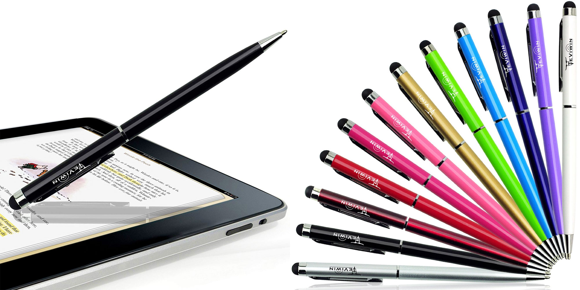 Not a fan of the $129 Apple Pencil? This 12-pack of 2-in-1 styluses is perfect for you at just $6