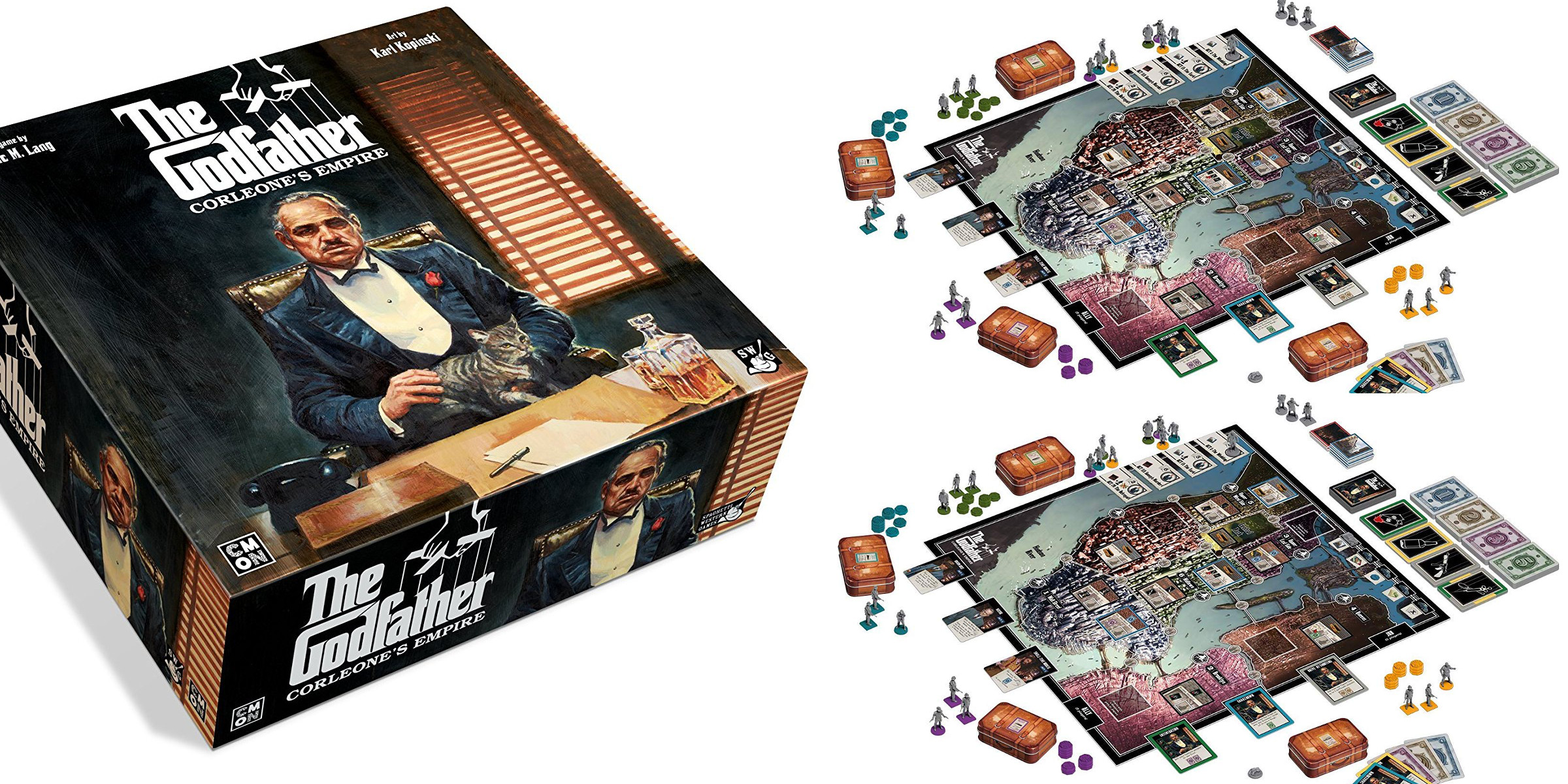 Make your friends an offer they can't refuse with The Godfather Board Game for $24 (Reg. $35+)