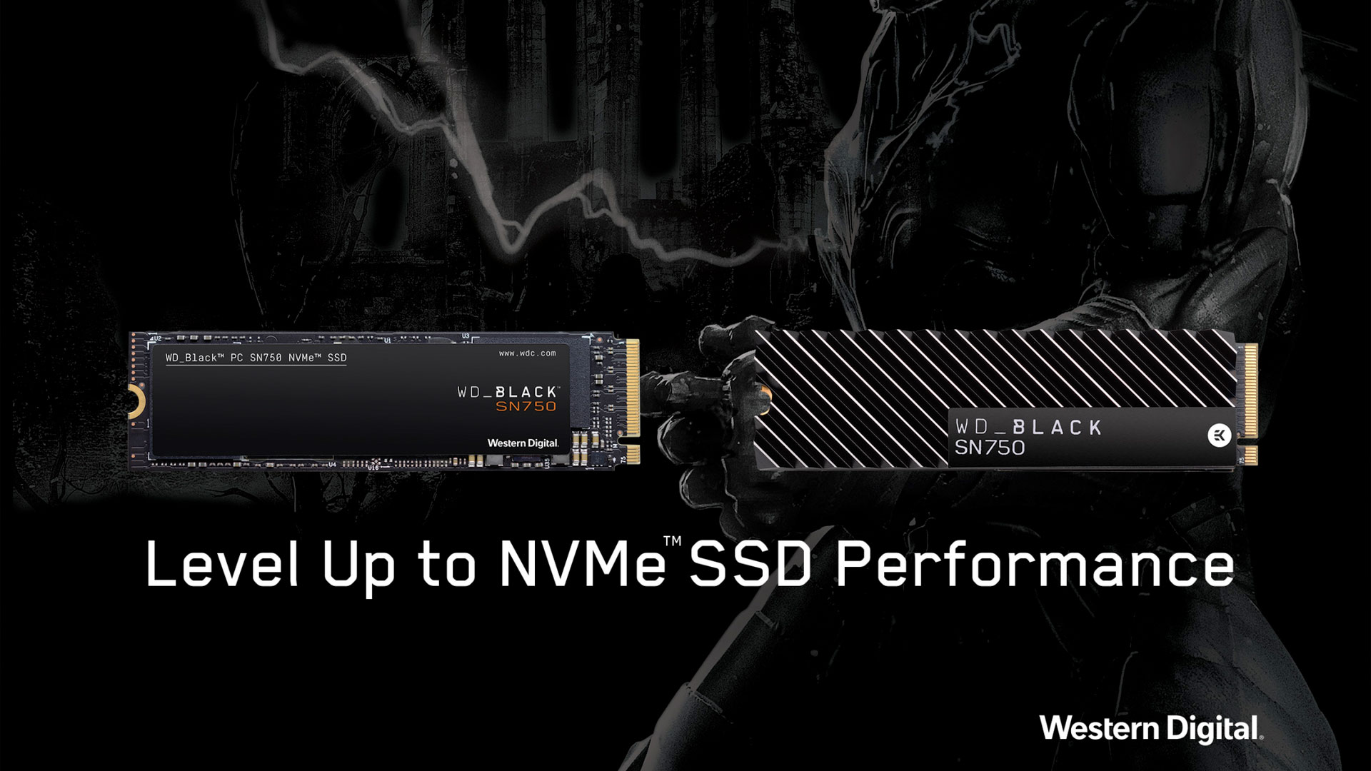 WD announces the Black SN750 NVMe PCIe M.2 SSD with read speeds of up to 3.4GB/s
