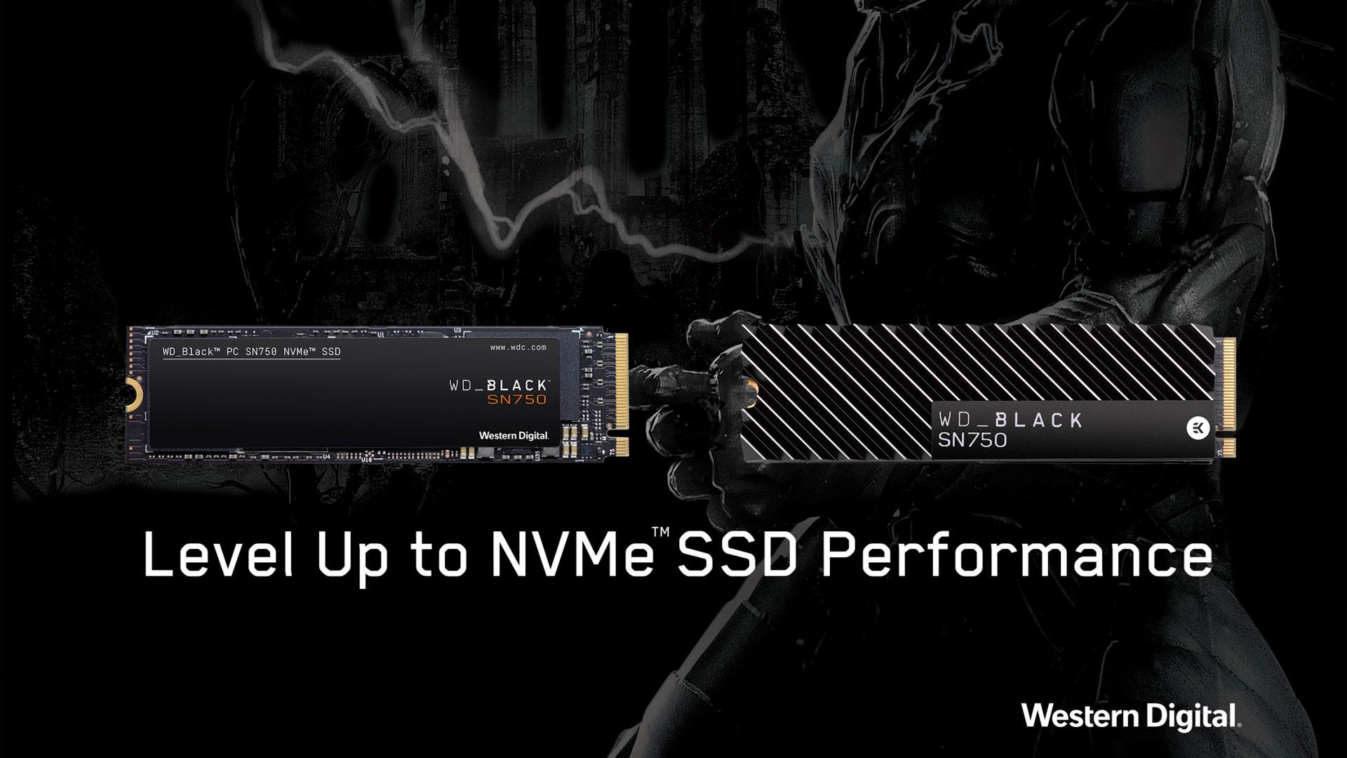 WD Black SN750 NVMe PCIe SSD