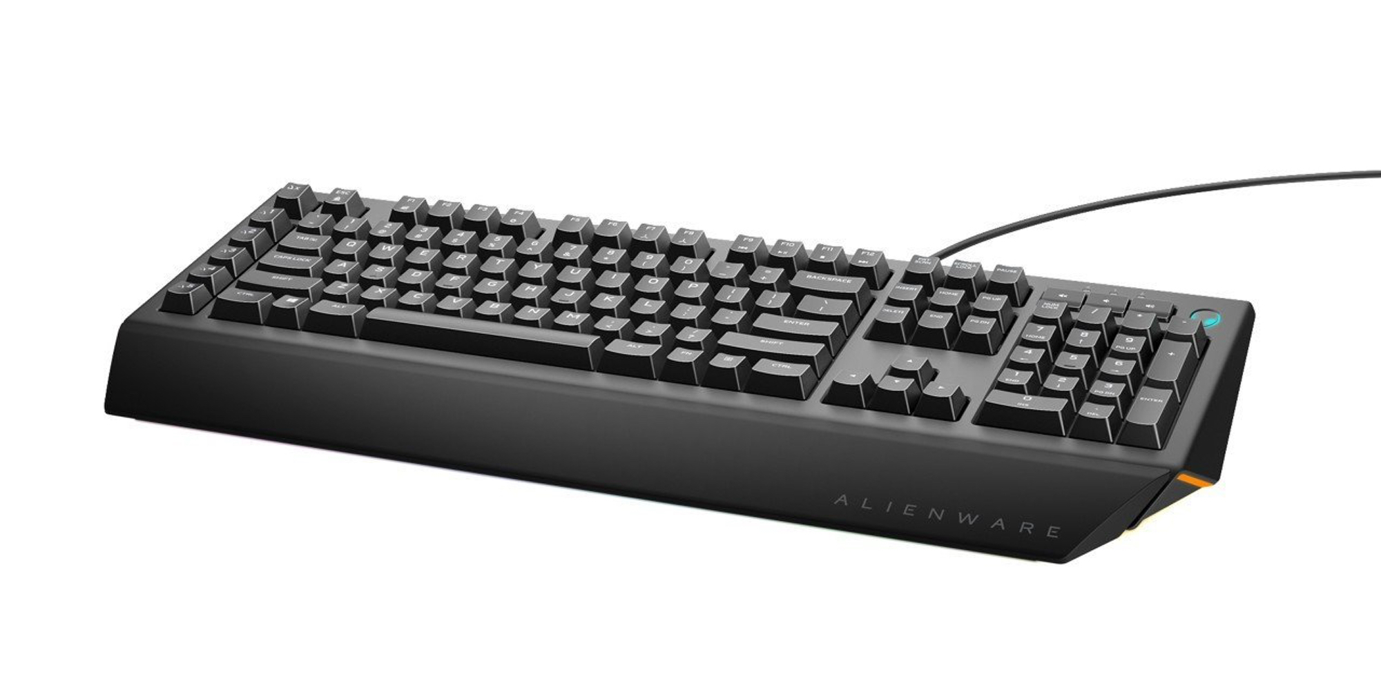 Alienware's $34 Advanced Gaming Keyboard has an RGB backlit case (Reg. $70)