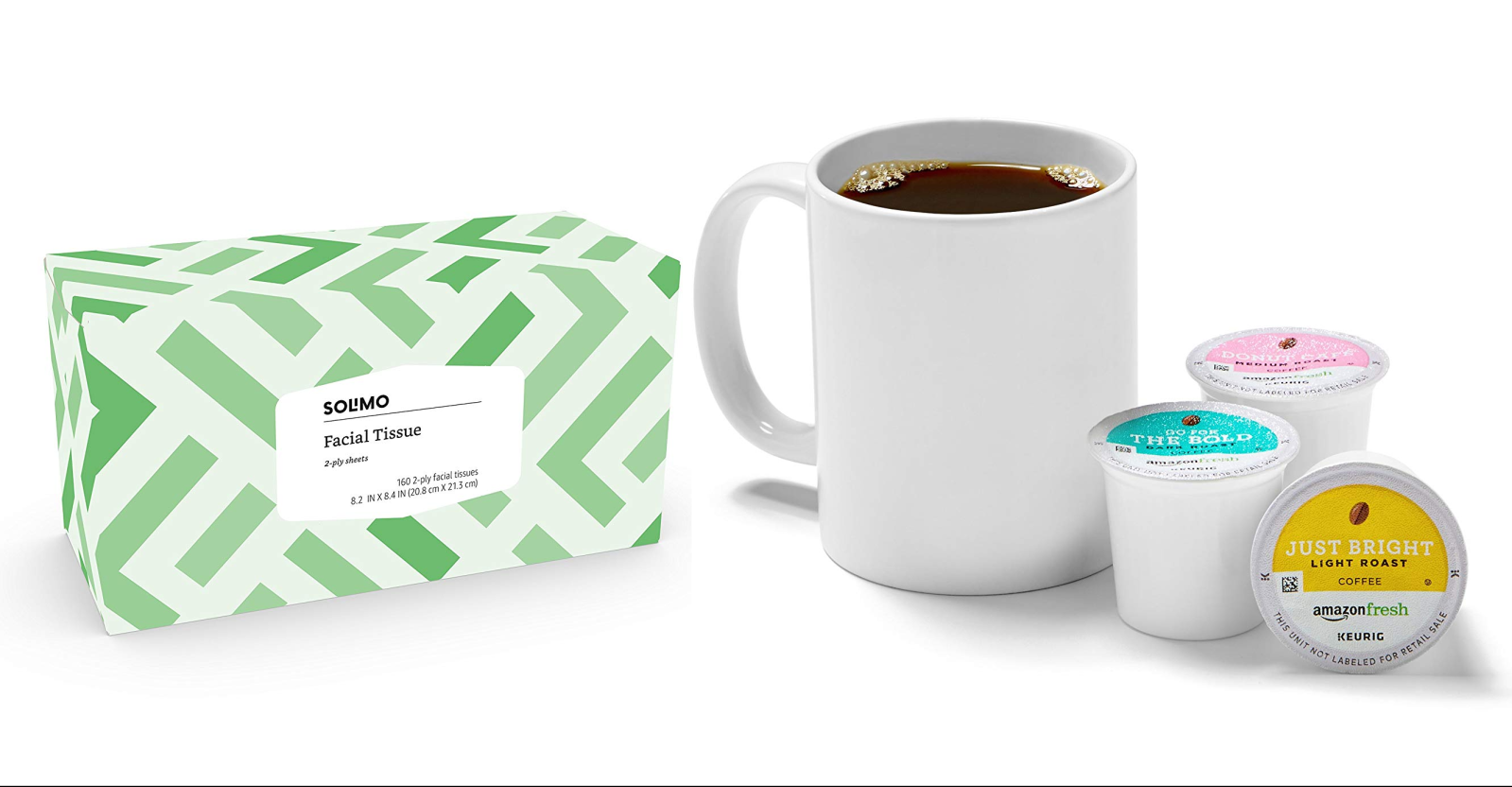 Amazon has its workplace essentials at 25% off today only: Tissues, snacks, coffee, more