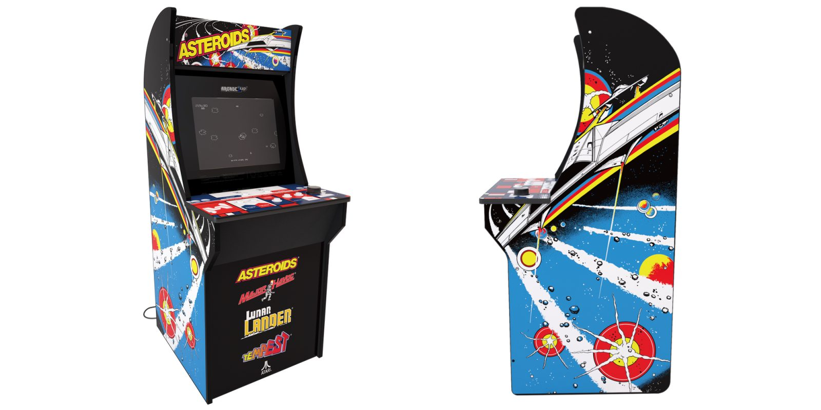 Bring home all the retro gaming vibes: Arcade1UP Asteroids Arcade Machine $165