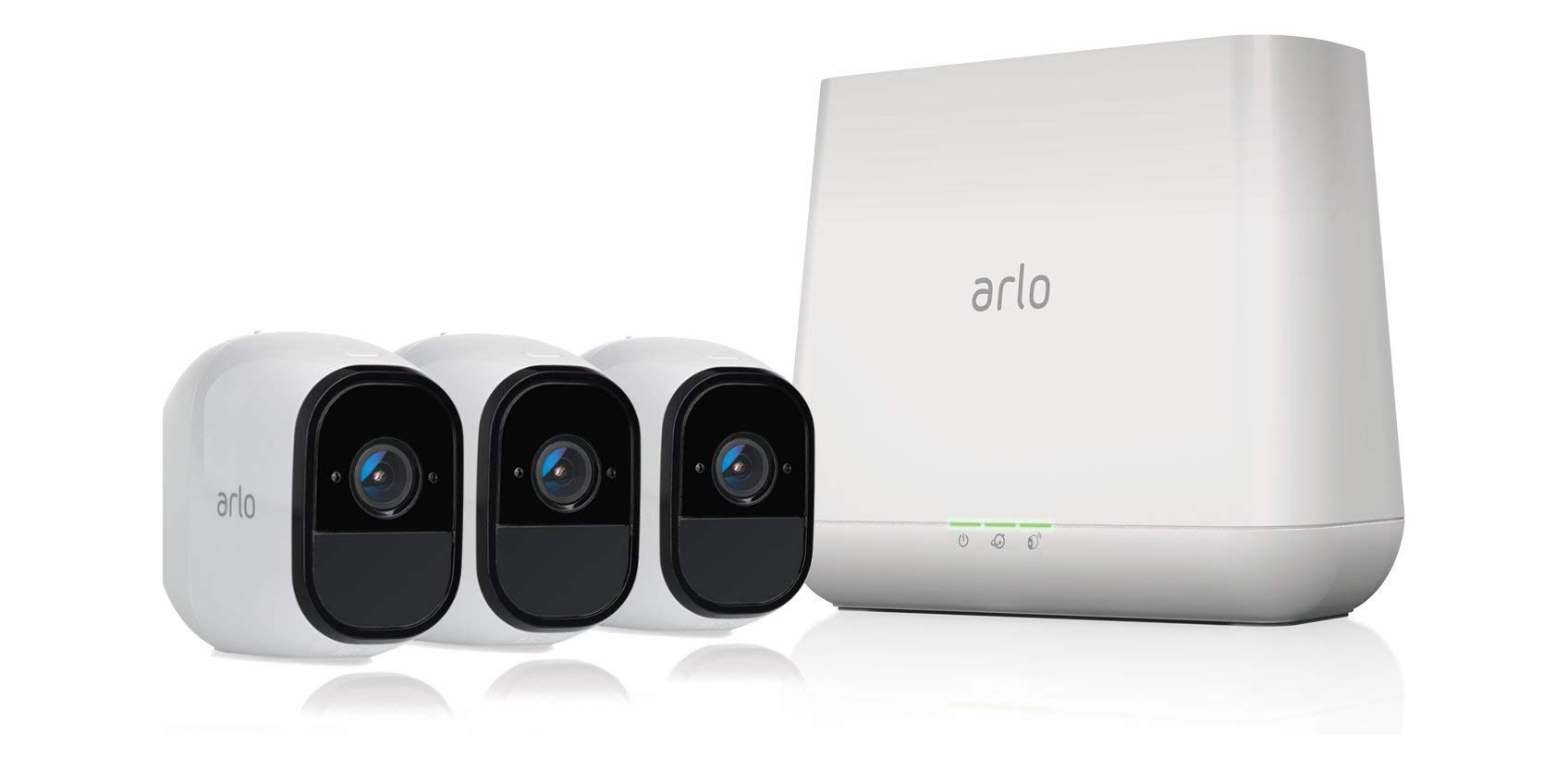 Arlo Pro cameras include FREE 7-day cloud storage: 3-pack $335 (Reg. $450), more from $168