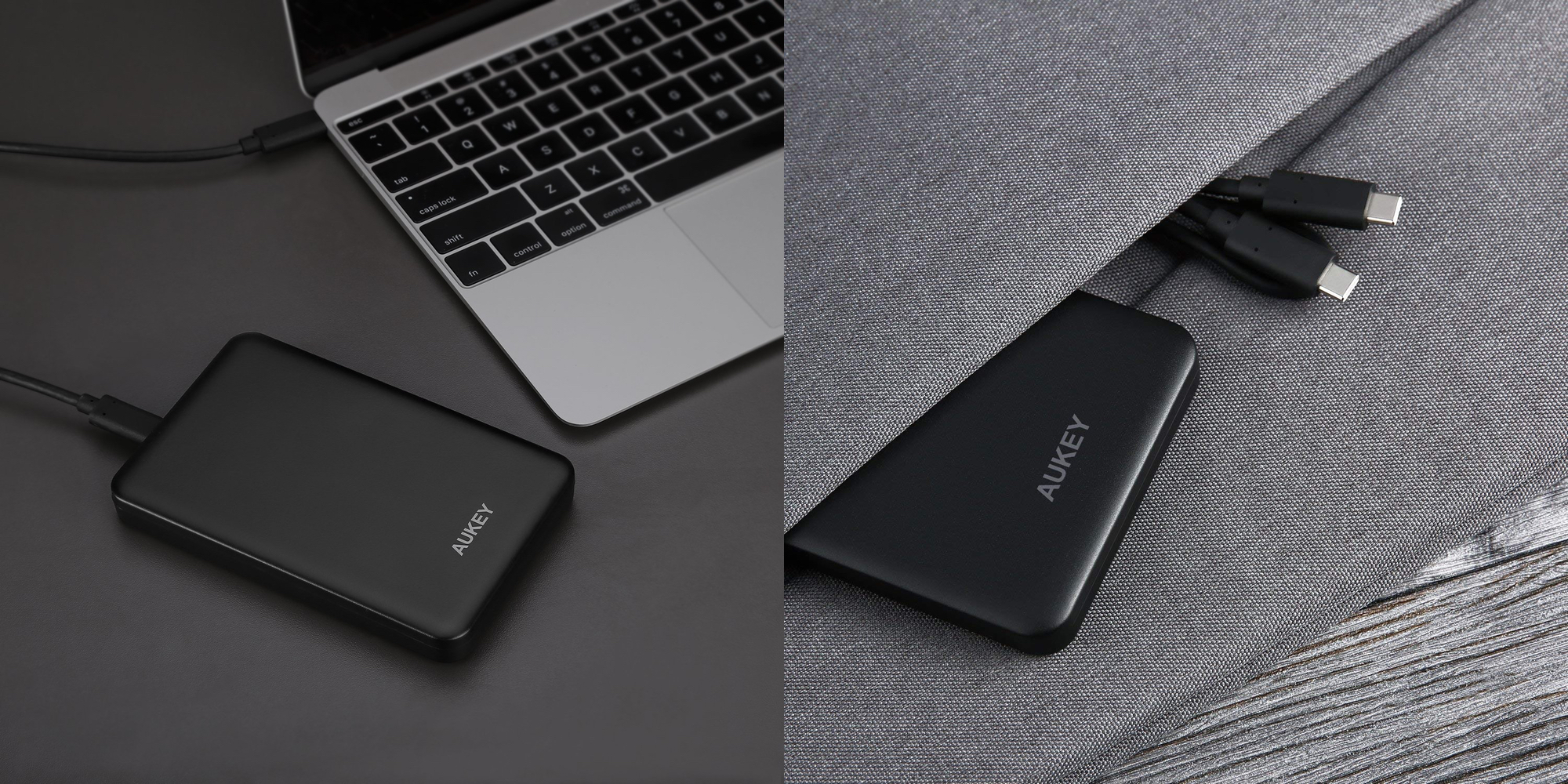 Expand your computer's storage w/ the Aukey USB-C Hard Drive Enclosure at $11 (Reg. $15)