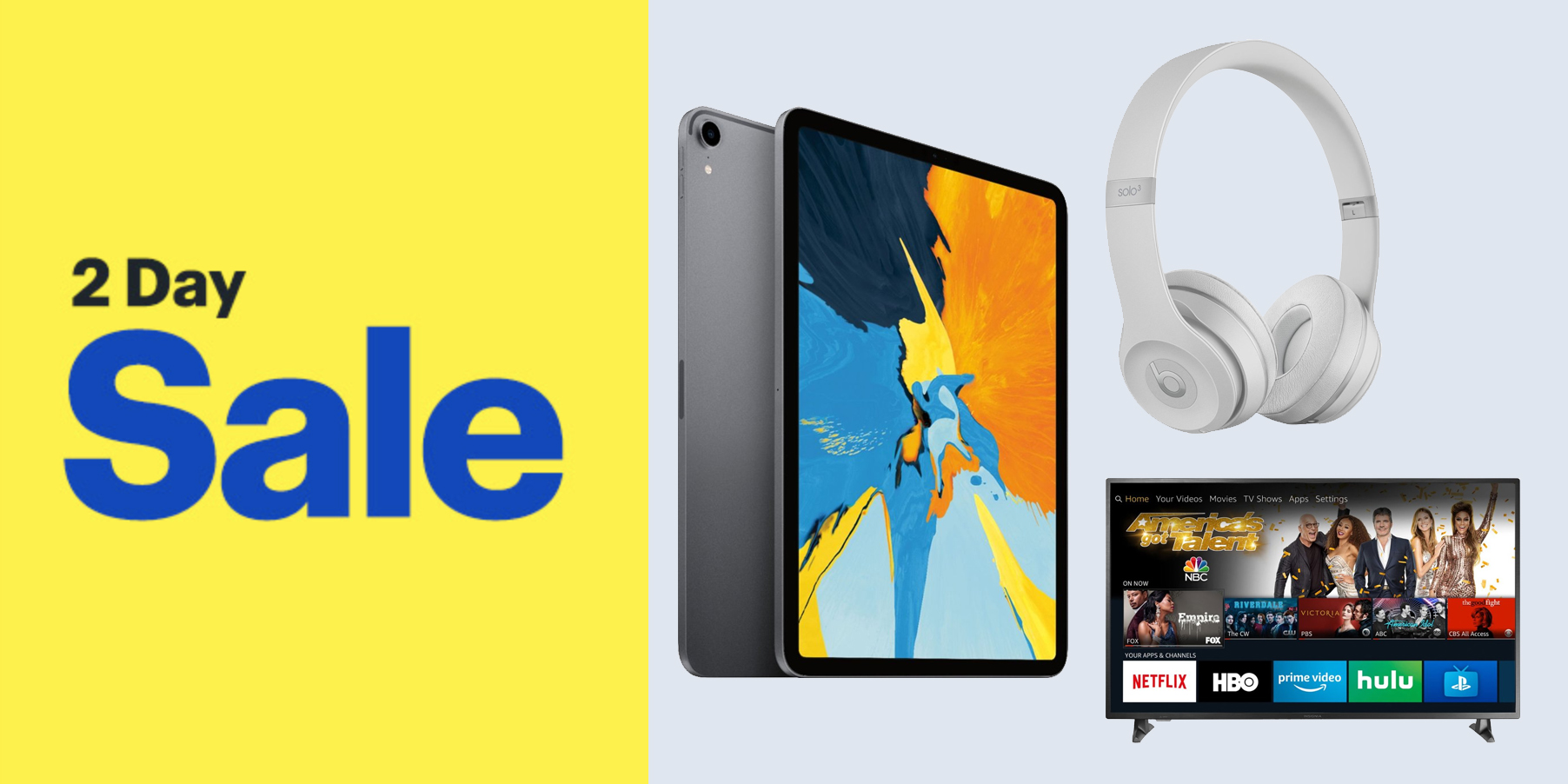 photo image Best Buy's new 2-day sale takes $150 off the latest iPad Pro, deals on Beats, TVs, more
