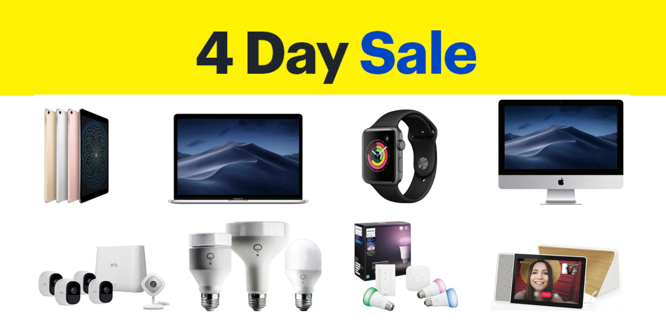 Best Buy 4-day Sale: $250 off MacBook Pro + iPad Pro, Apple Watch $100 off, TVs, much more