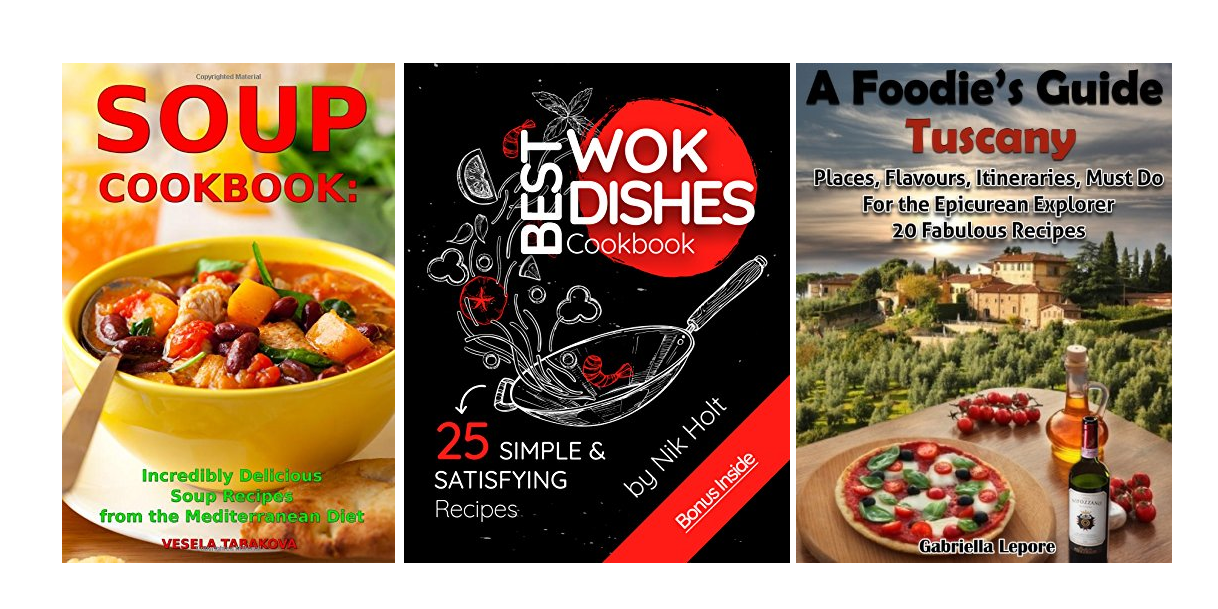 Download these FREE Kindle cookbooks and never have a boring meal ever again