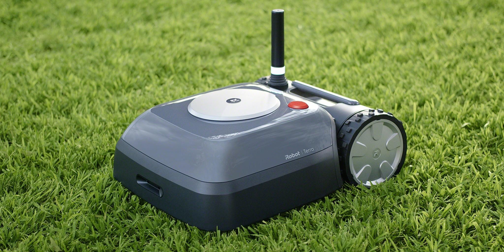 iRobot Terra arrives as the brand's first robotic lawn mower