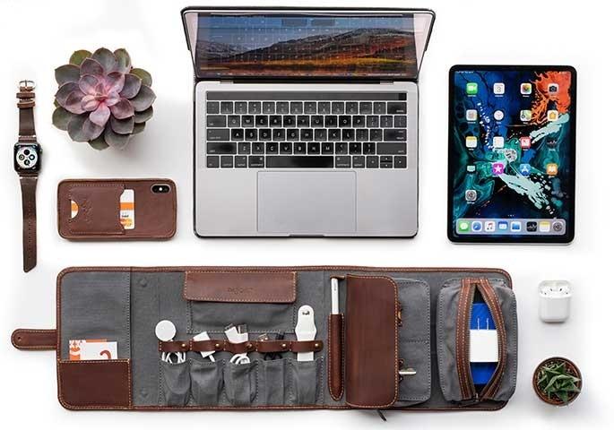 Techfolio cord organizer