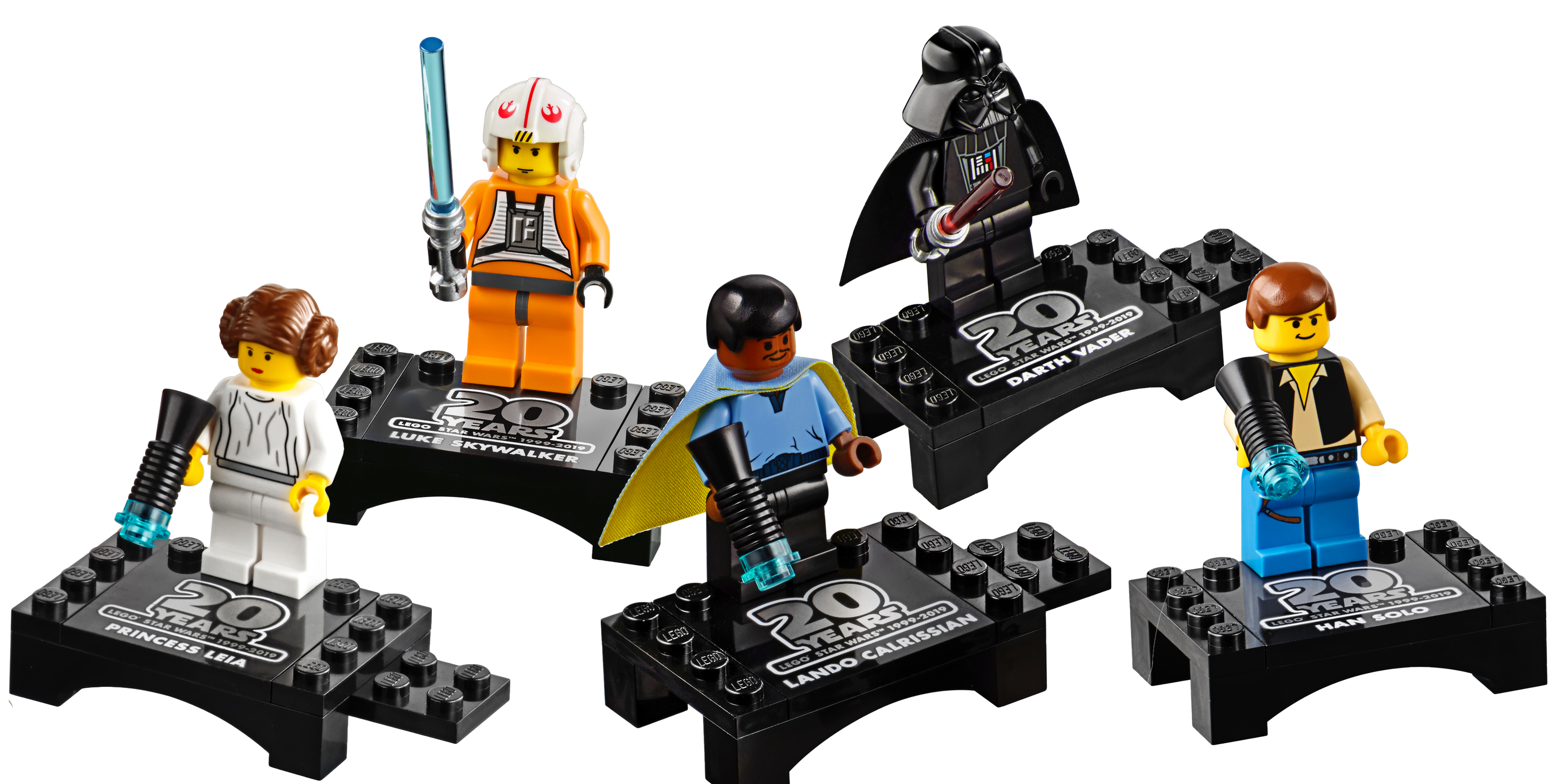 LEGO Star Wars 20th Anniversary Minifigures