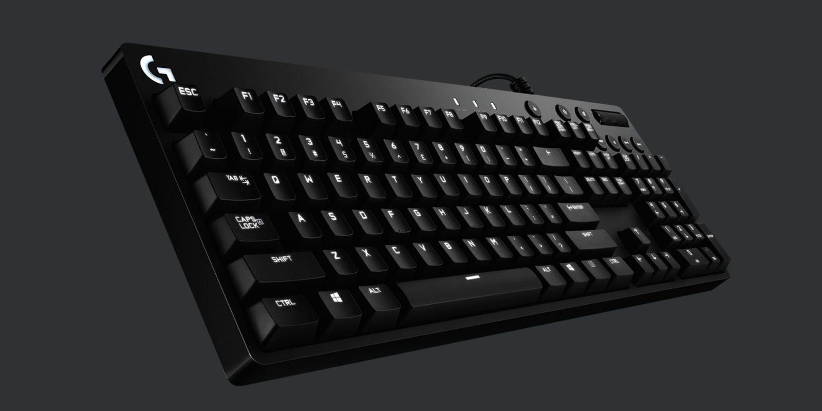 13b168e5fb7 Logitech's Orion Backlit Mechanical Keyboard drops to $65 (Reg. $90), more  from $120