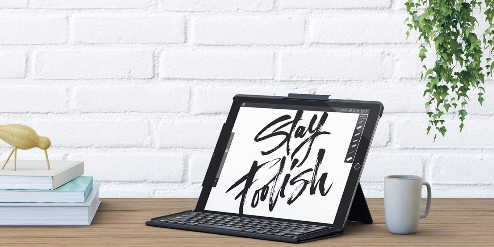 Add Logitech's Slim Keyboard to your 12.9-inch iPad Pro at $99.50 (Reg. $130)