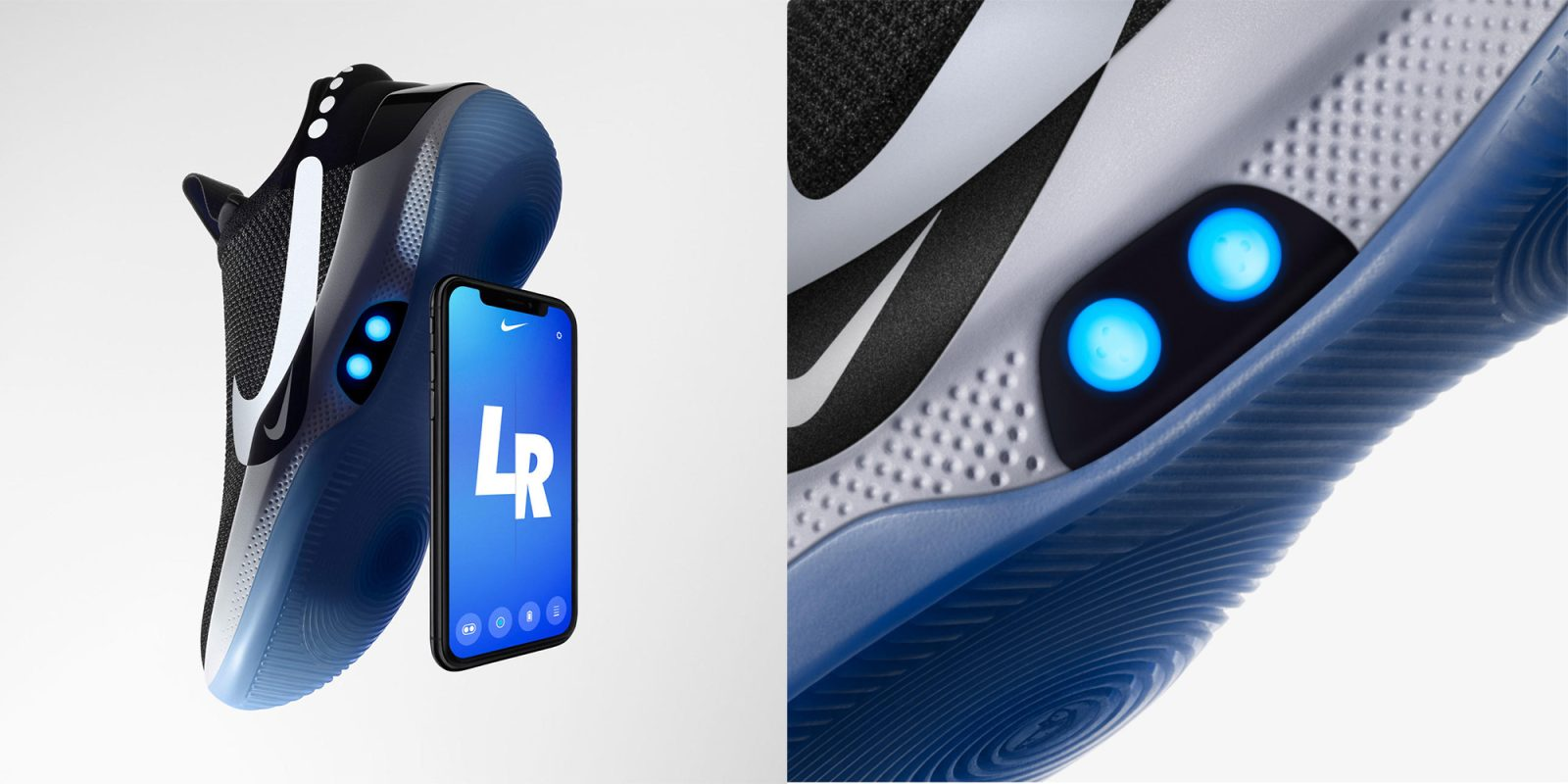 805e8f0df7 Nike's self-lacing Adapt BB basketball shoes feature iPhone control,  customizable LEDs