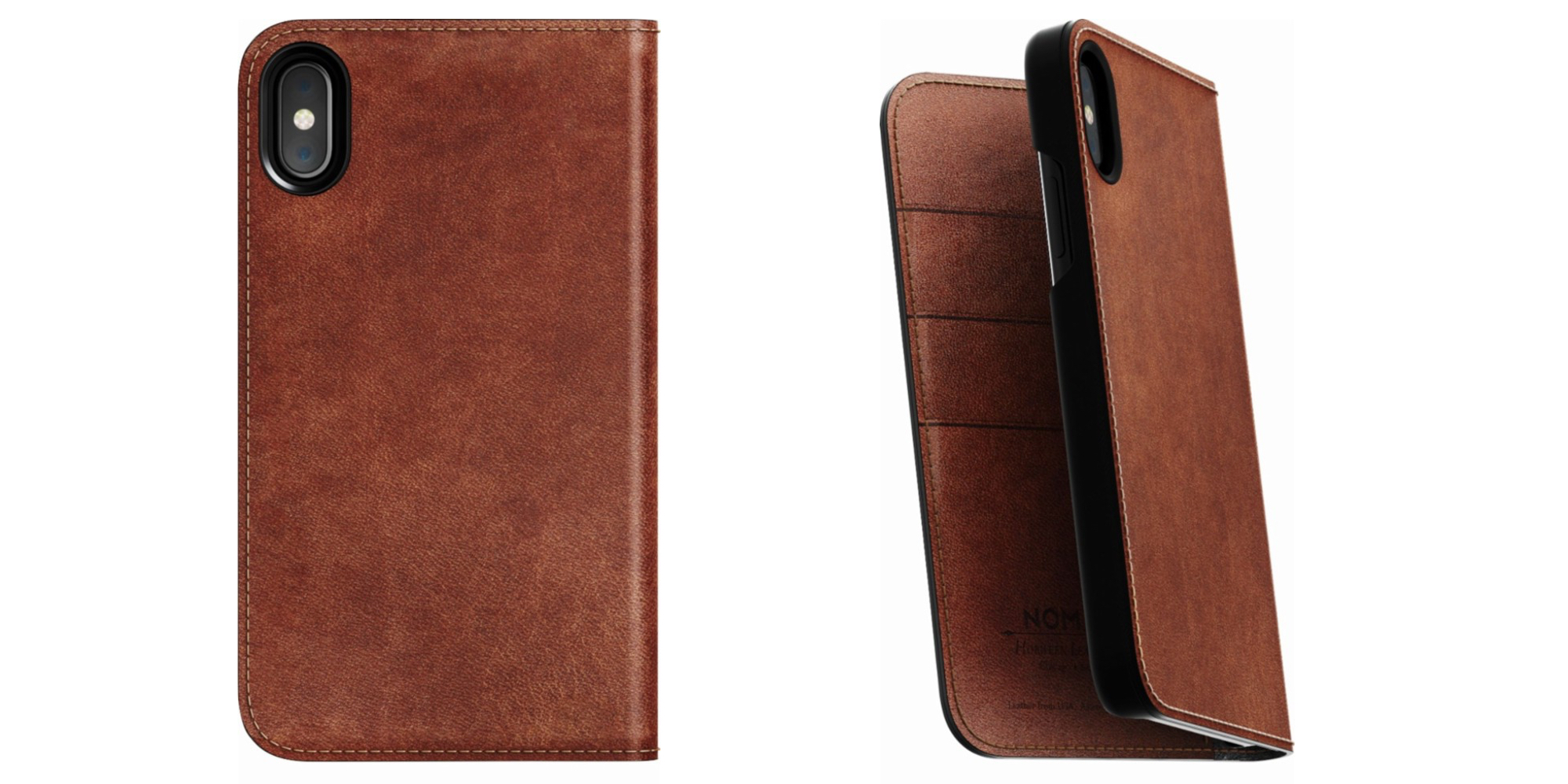 Smartphone Accessories: Nomad Leather Folio iPhone X/S Case $20, more