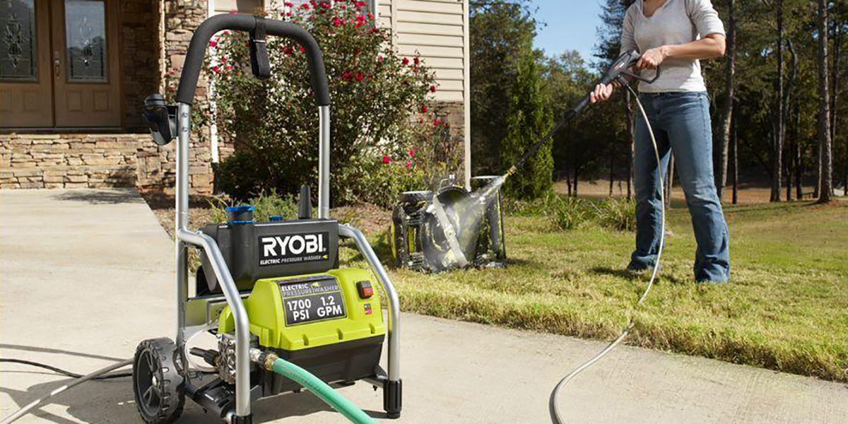 Save big on Ryobi's top-rated electric outdoor tools at Home Depot, deals from $50
