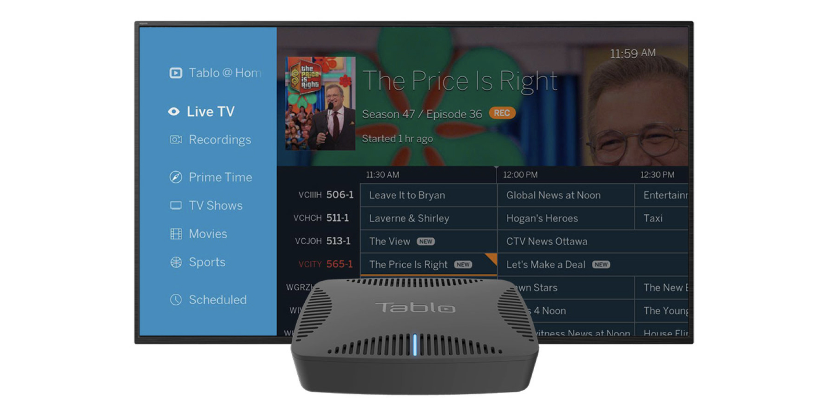 The new Tablo Quad DVR skips the commercials for you, supports 8TB of storage