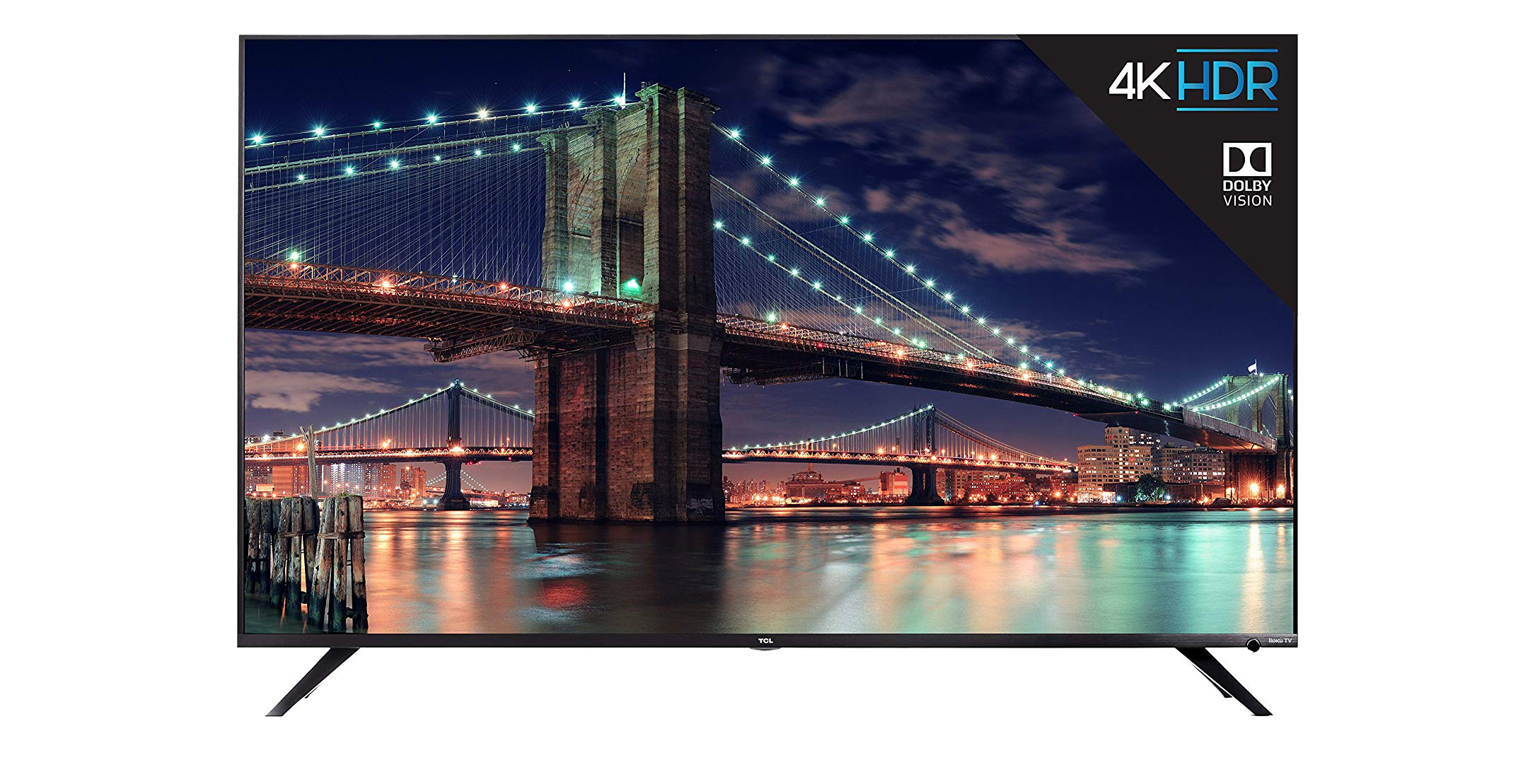 TCL's 65-inch 4K TV has built-in Roku, three HDMI inputs, more for