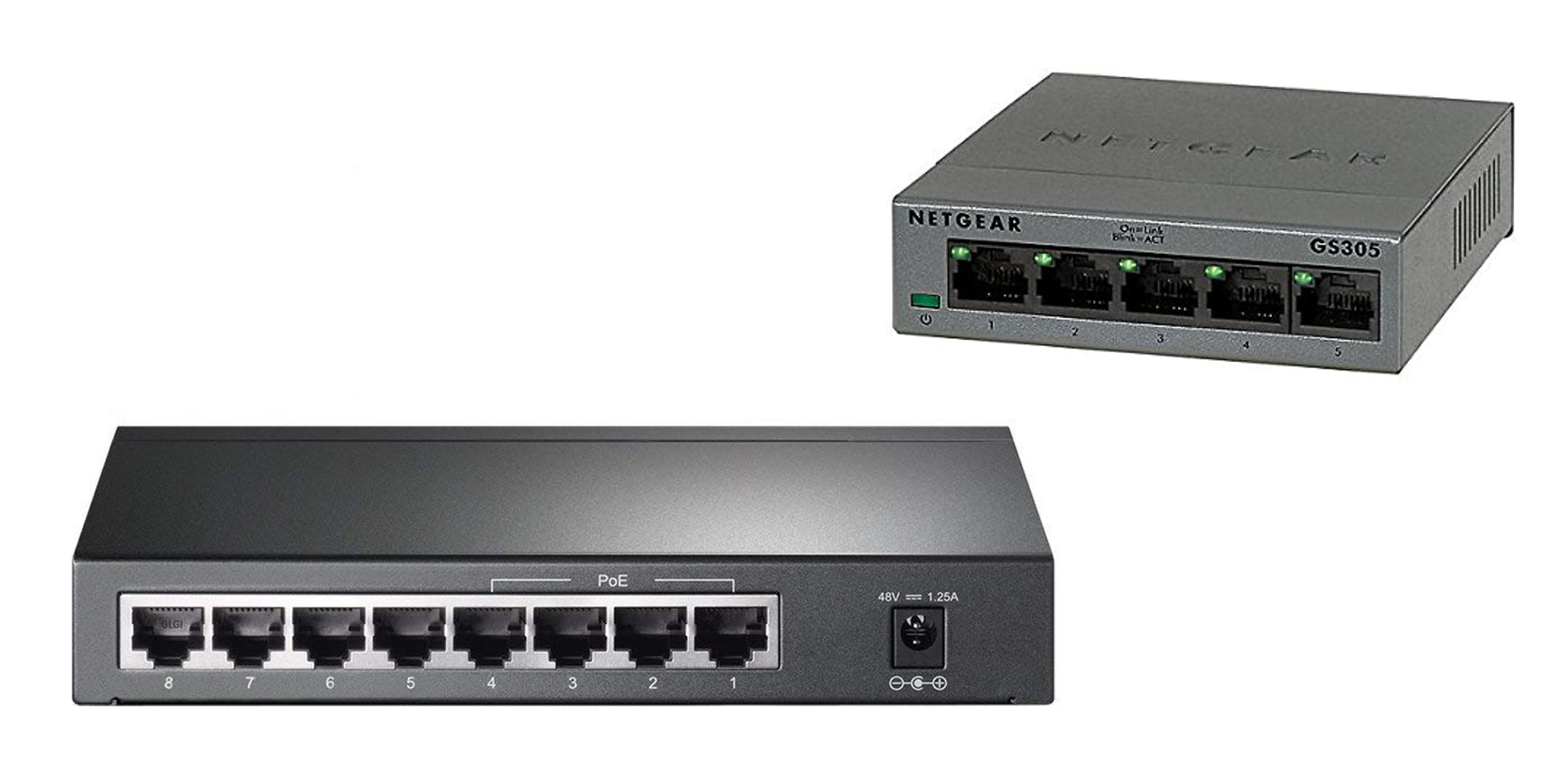 Expand your network w/ TP-Link's 8-Port Gigabit POE Switch at $50 (Reg. $60), more from $15