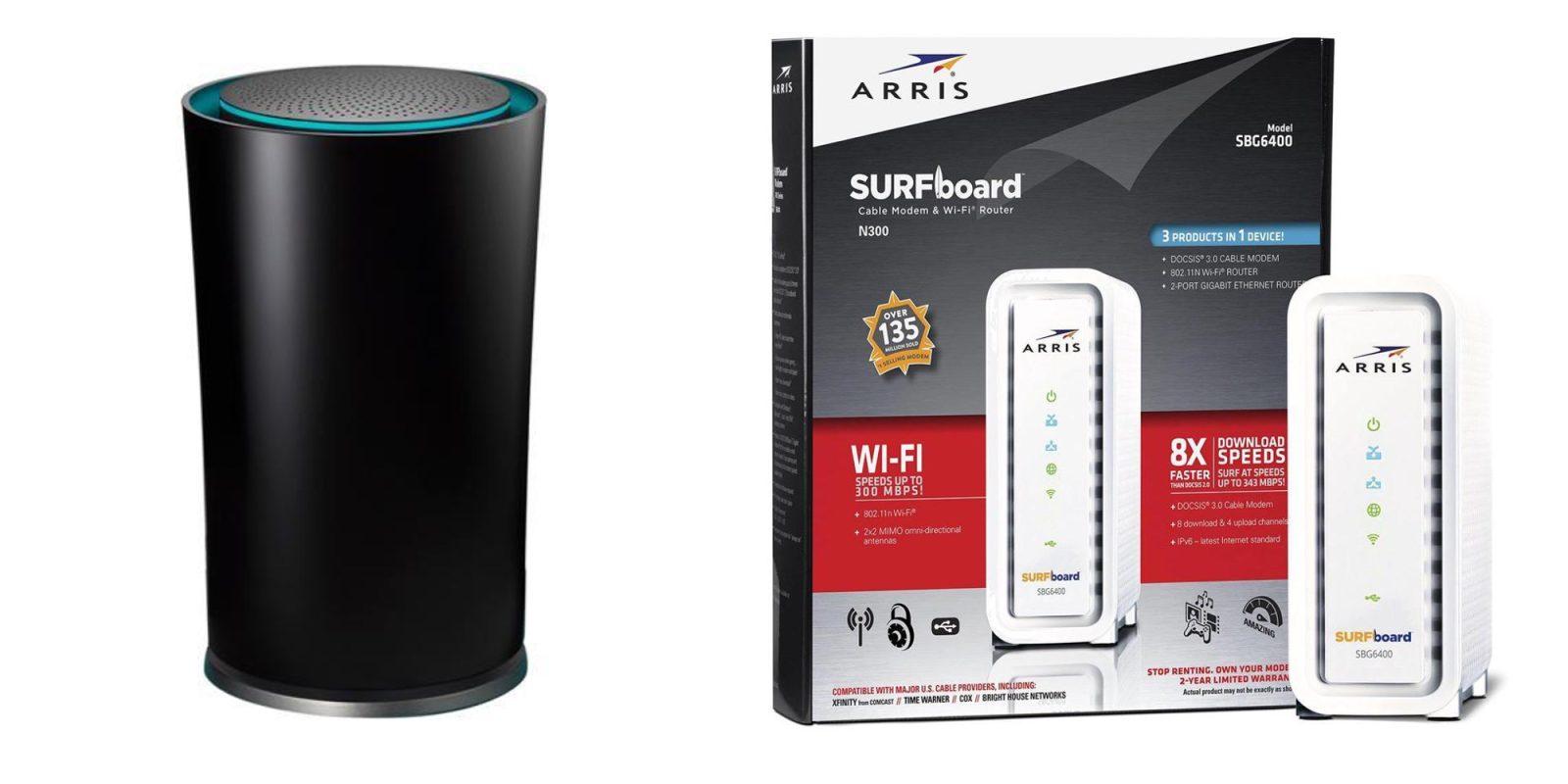 Bundle the TP-Link OnHub Wi-Fi Router w/ ARRIS' DOCSIS 3 0