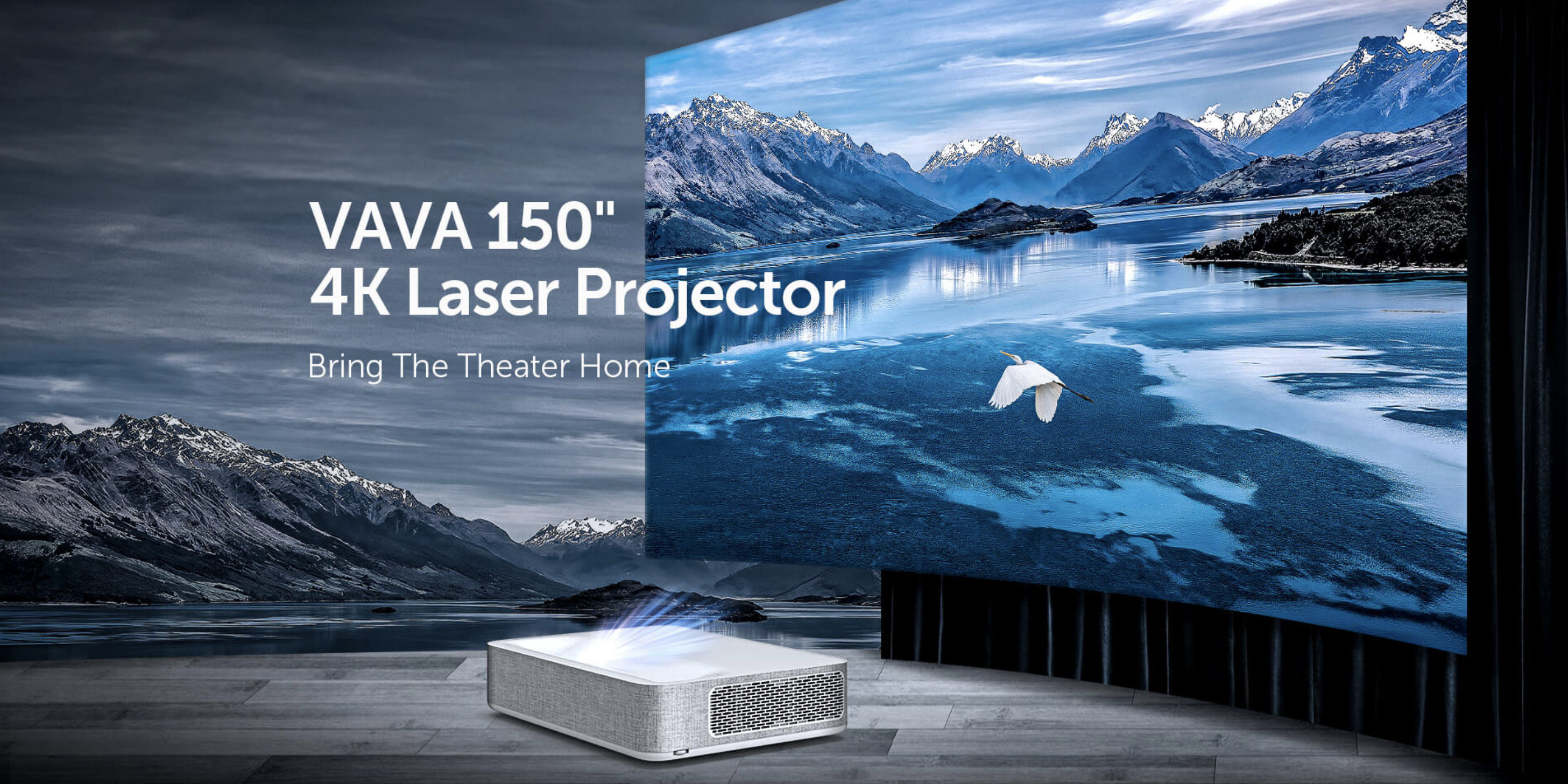 Vava shakes up the market with a new 4K HDR short-throw projector for $3,500