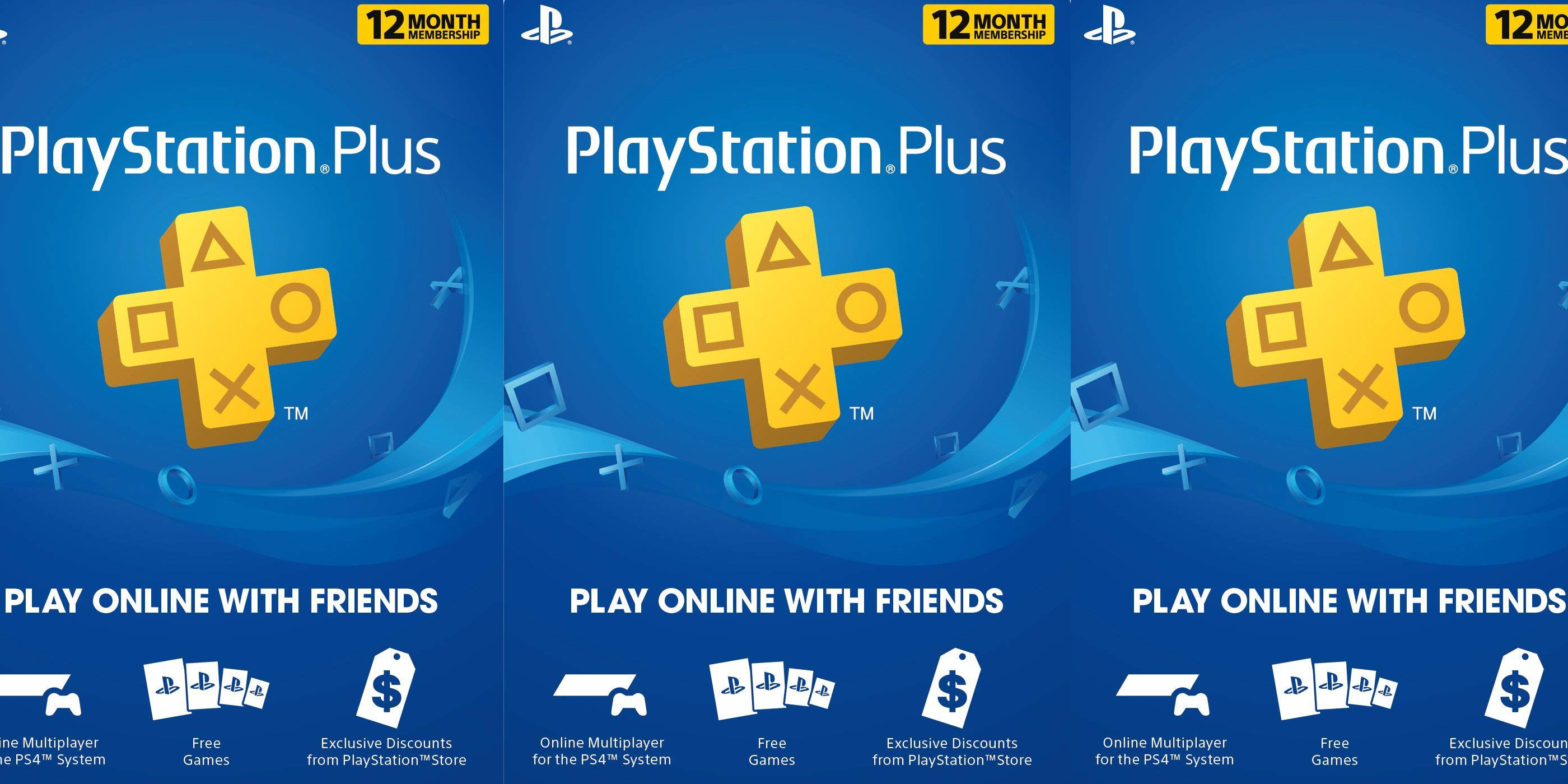 Renew your PlayStation Plus Membership: 1-year for $38.50 w/ free digital delivery (Reg. $60)