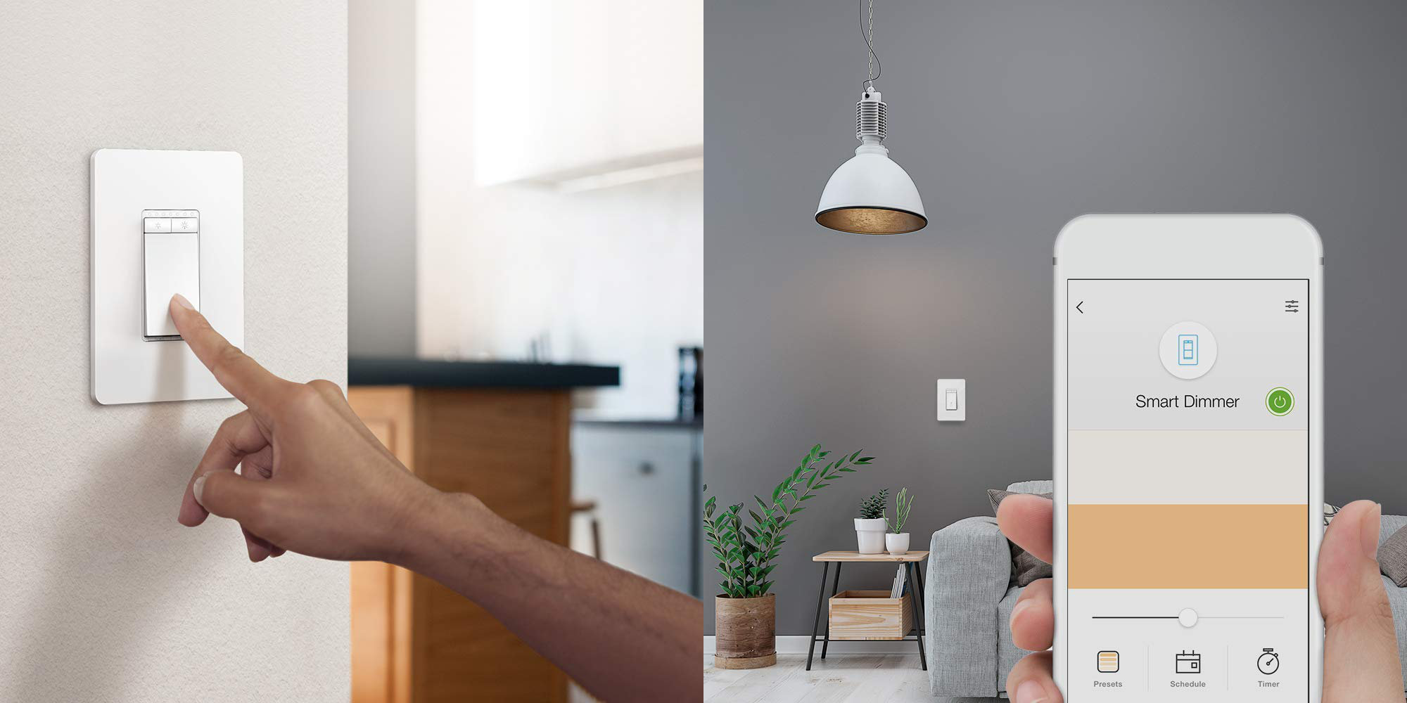 Toggle this 3-pack of TP-Link's Dimmer Switches w/ Alexa, Assistant