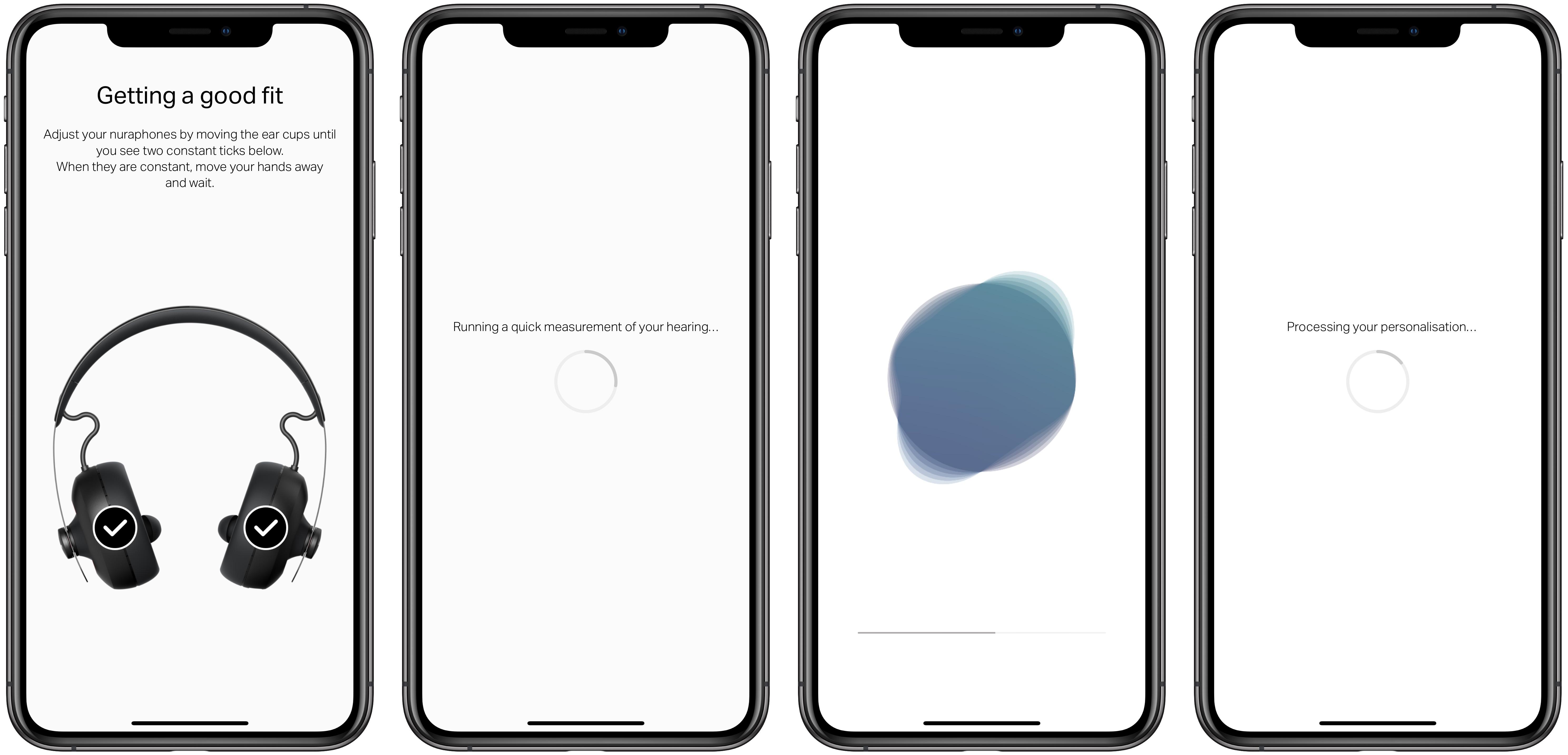 nuraphone hearing test (top) app