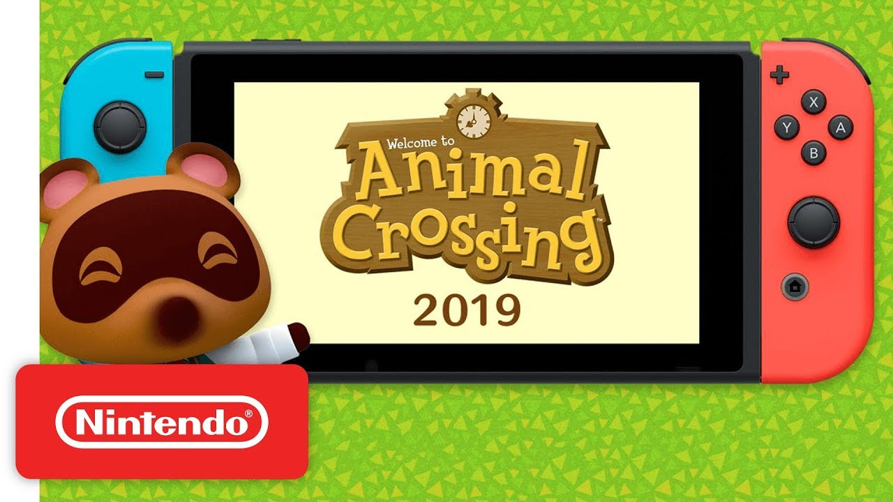 Animal Crossing Switch at next Nintendo Direct
