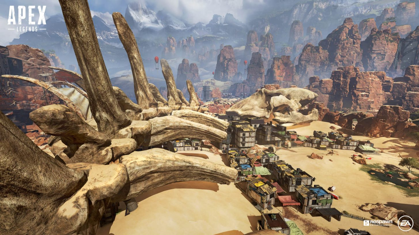 Apex Legends Desert Map