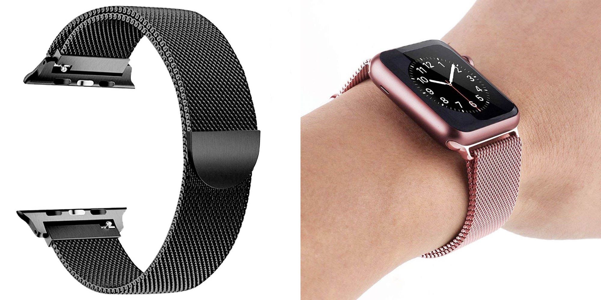 Upgrade your Apple Watch's look w/ a Milanese band in multiple colors from $5.50 Prime shipped