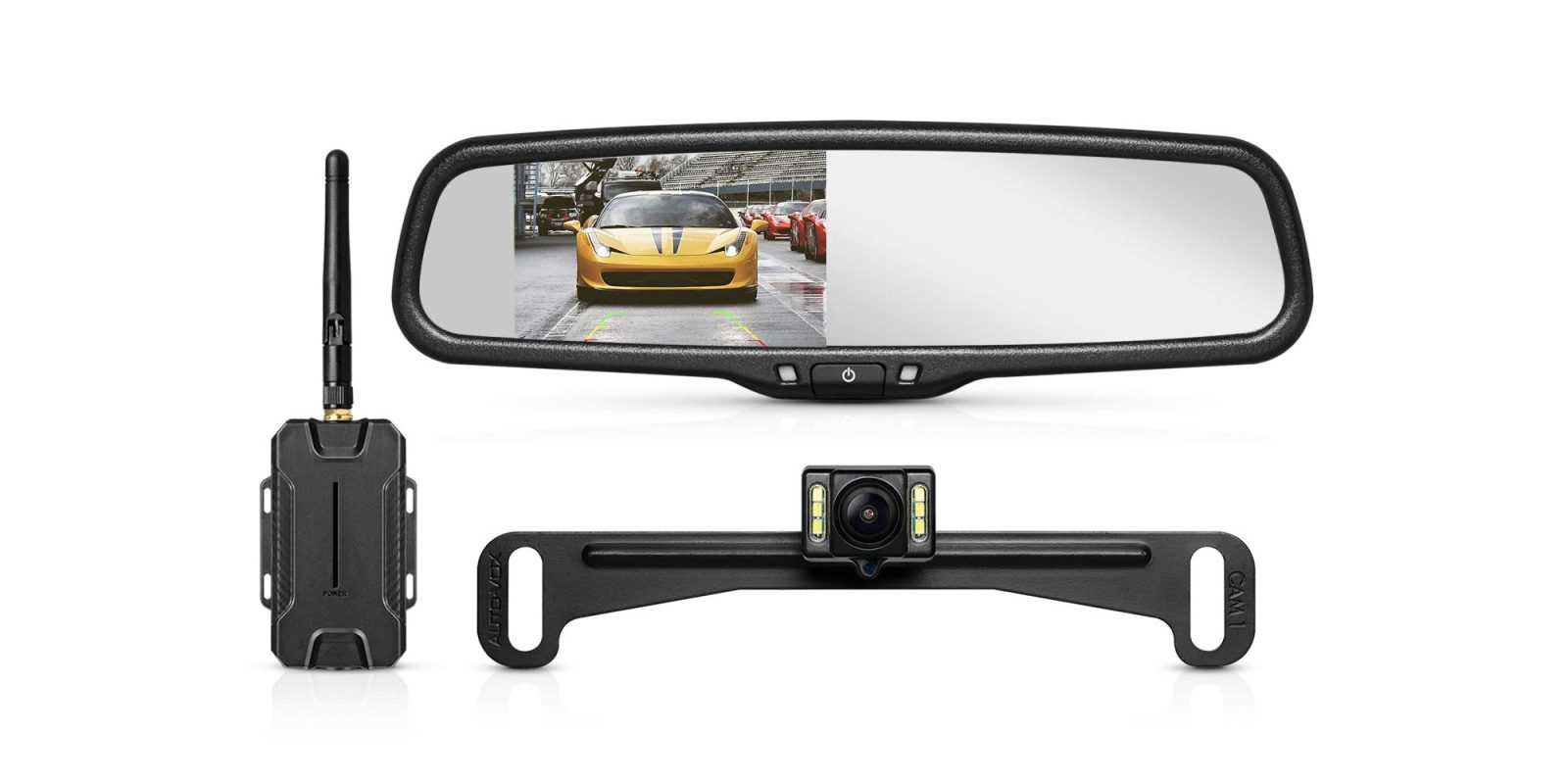 Add this wireless backup camera to any car for $91.50 shipped (Reg. $140+)