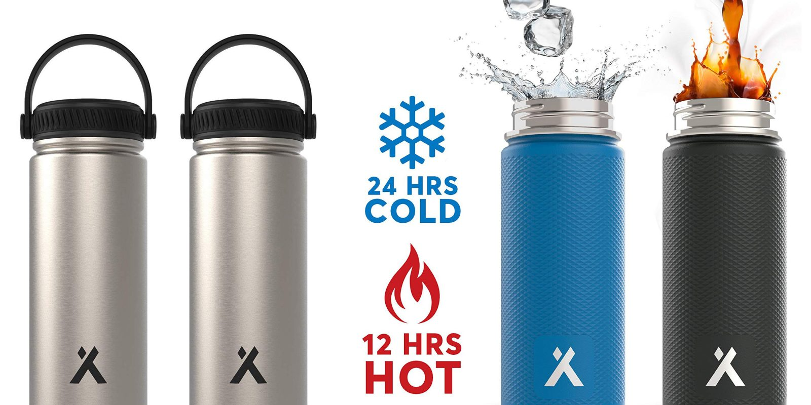 77ed0a2fdd Bring home some Bear Grylls Vacuum Insulated Water Bottles for $10 Prime  shipped (50% off)