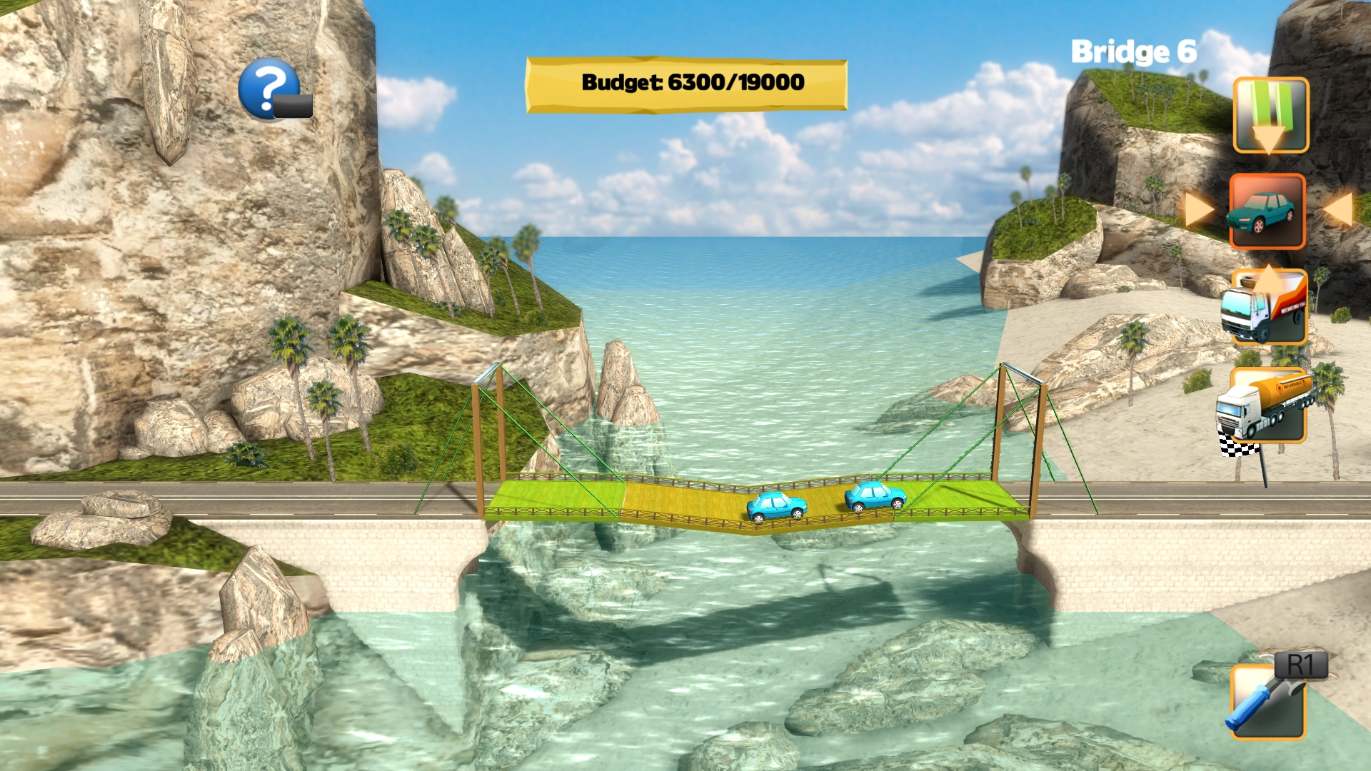 Bridge Constructor iOS and Mac games are on sale from just $1 today (50% off)