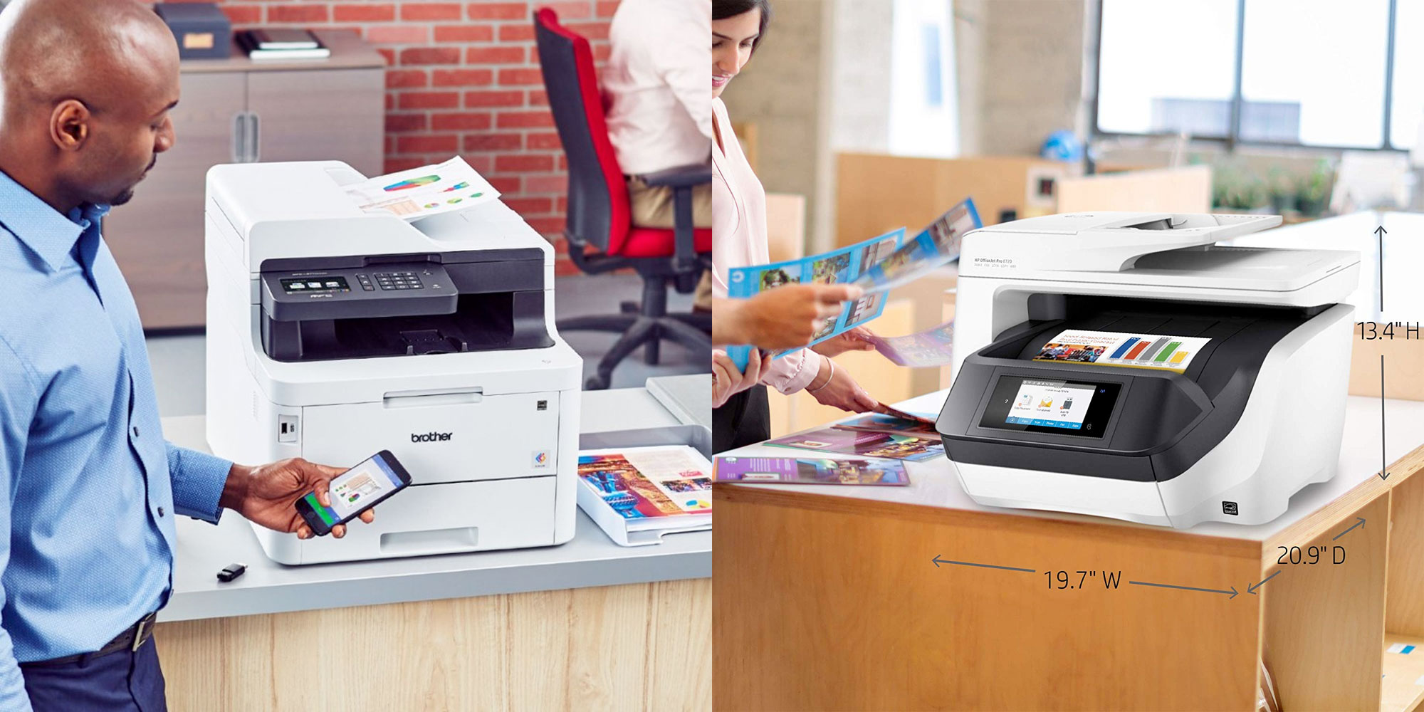 Enjoy AirPrint, color, scanning, more on Brother's high-end laser AiO printer: $275, more from $99