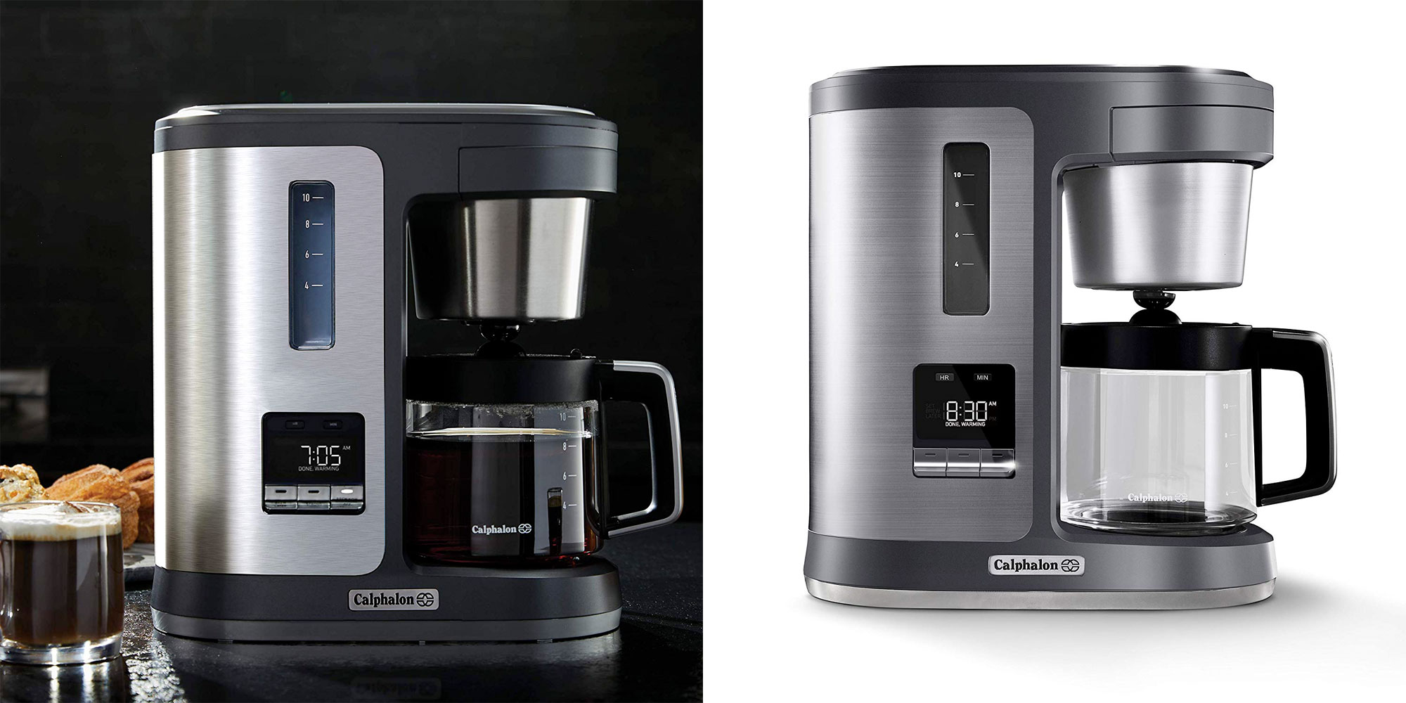 Enjoy the perfect cup of joe w/ Calphalon's special brew coffee maker at $80 (50% off)