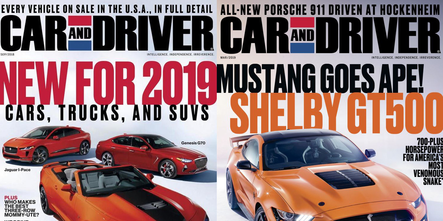 Car And Driver >> Lock In 4 Years Of Car And Driver Magazine For Just 12 With Free