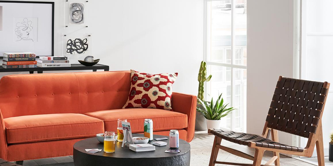 Crate Barrel S New Small Es Line Is Perfect For Apartment Living