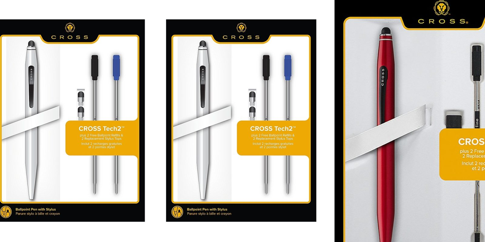 Cross Tech2 Metal Ballpoint Pen And Stylus W Replacement Bundle Now Just 12 Reg 25