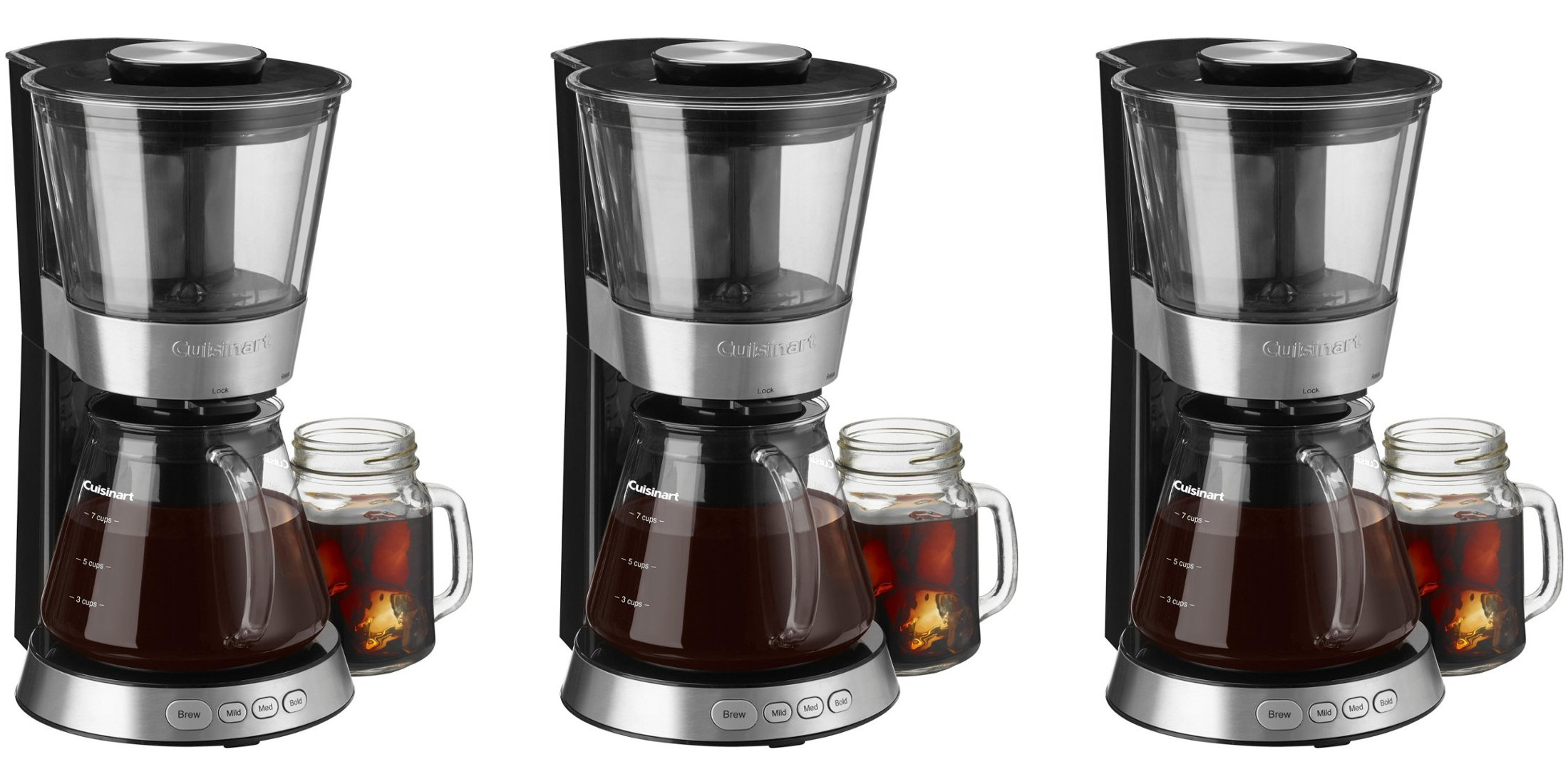 Cuisinart's 7-Cup Cold-Brew Coffee Maker is down to $50 for today only (Reg. up to $100)