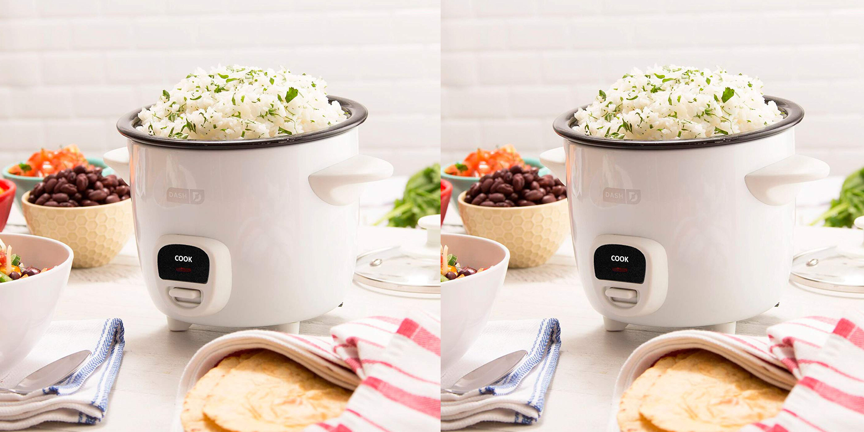The mini Dash Rice Cooker is down to just $15 today at Best Buy (Reg. up to $30)
