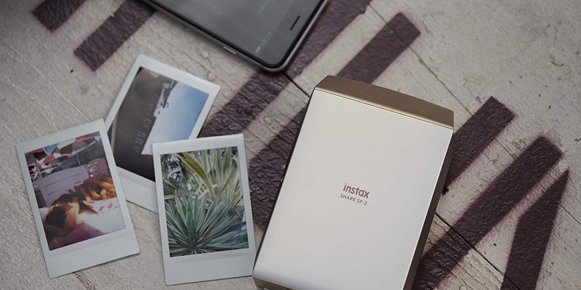 Bundle Fujifilm's $80 Share SP-2 Smartphone Printer w/ 2 packs of film and save $40